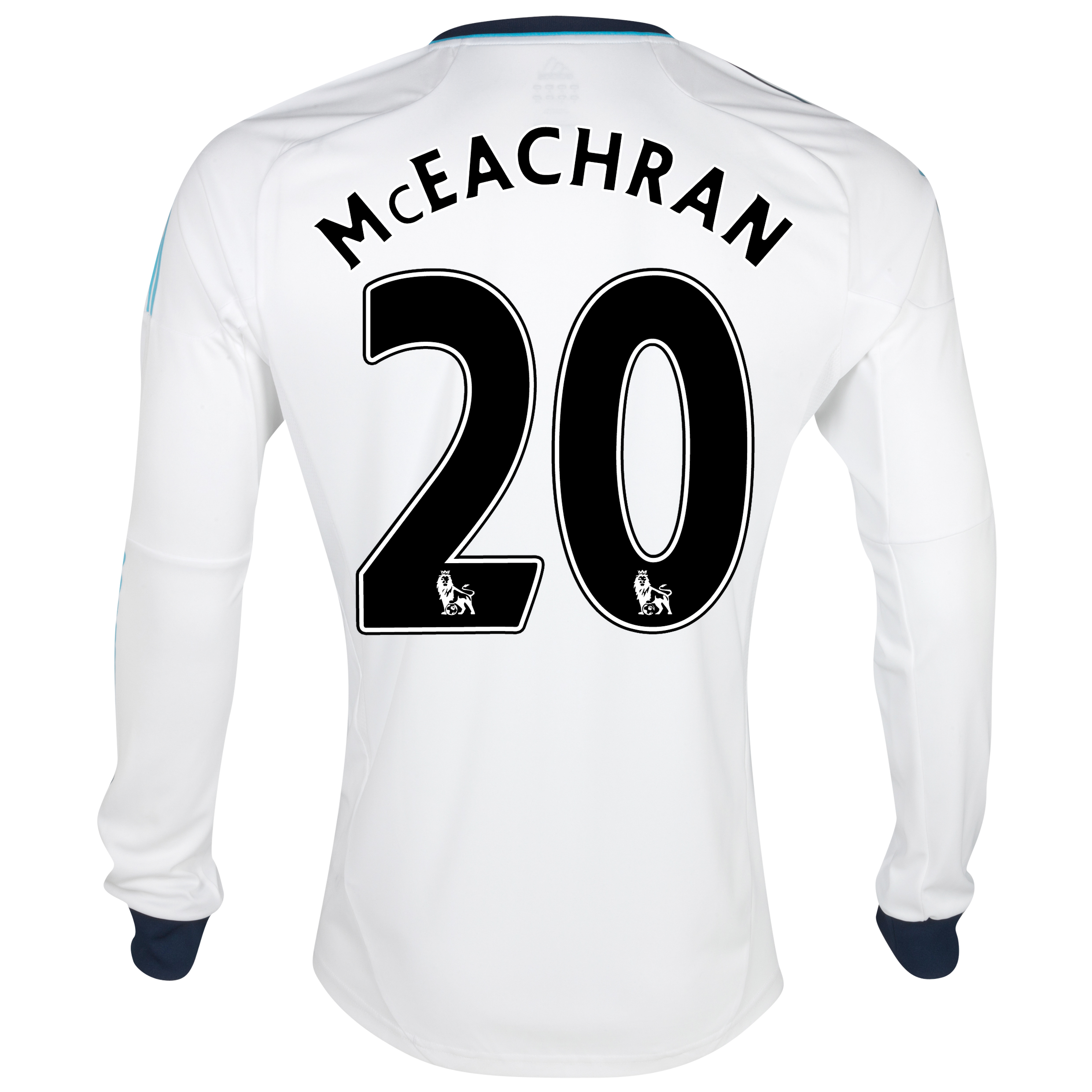 Chelsea Away Shirt 2012/13 - Long Sleeved with McEachran 20 printing