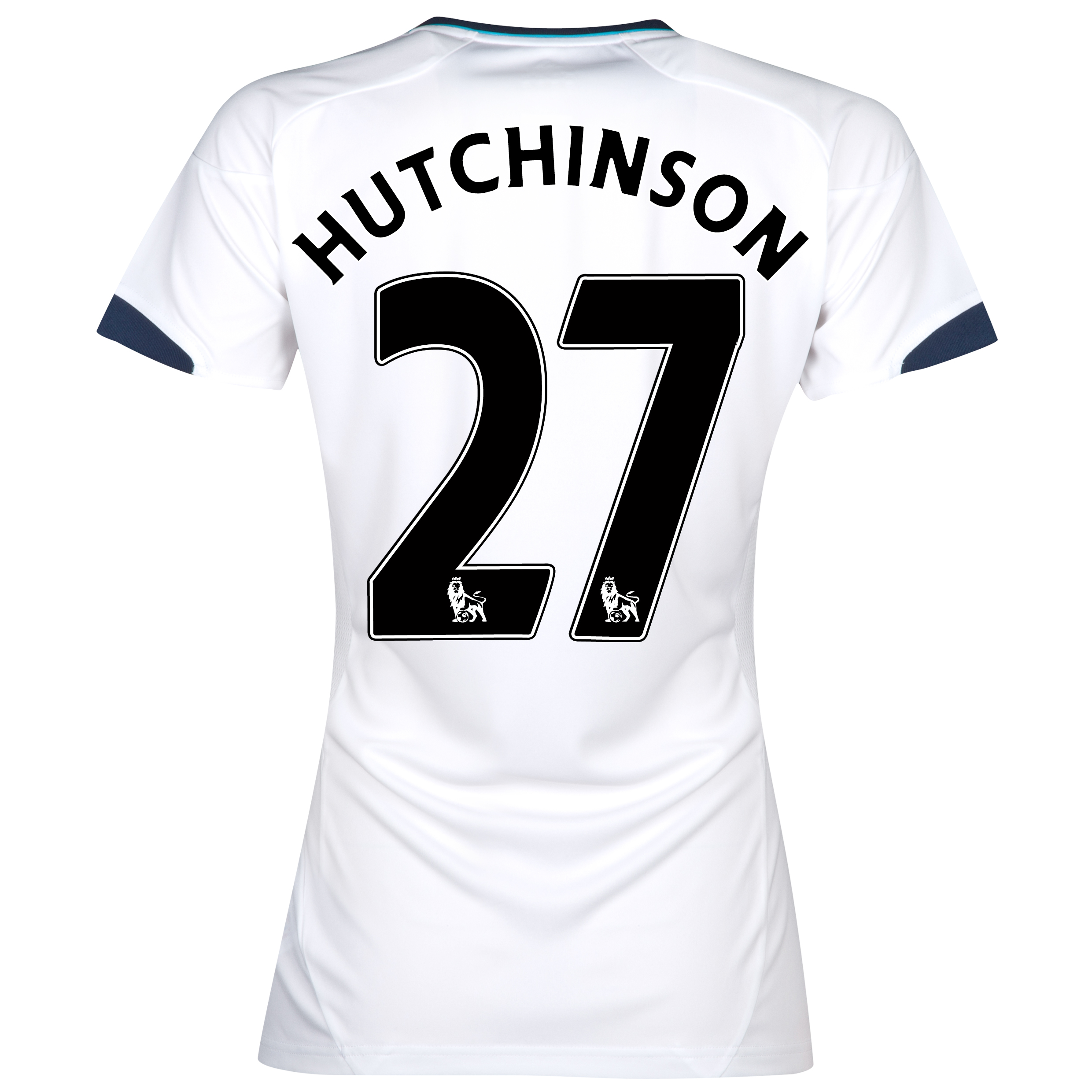 Chelsea Away Shirt 2012/13 - Womens with Hutchinson 27 printing