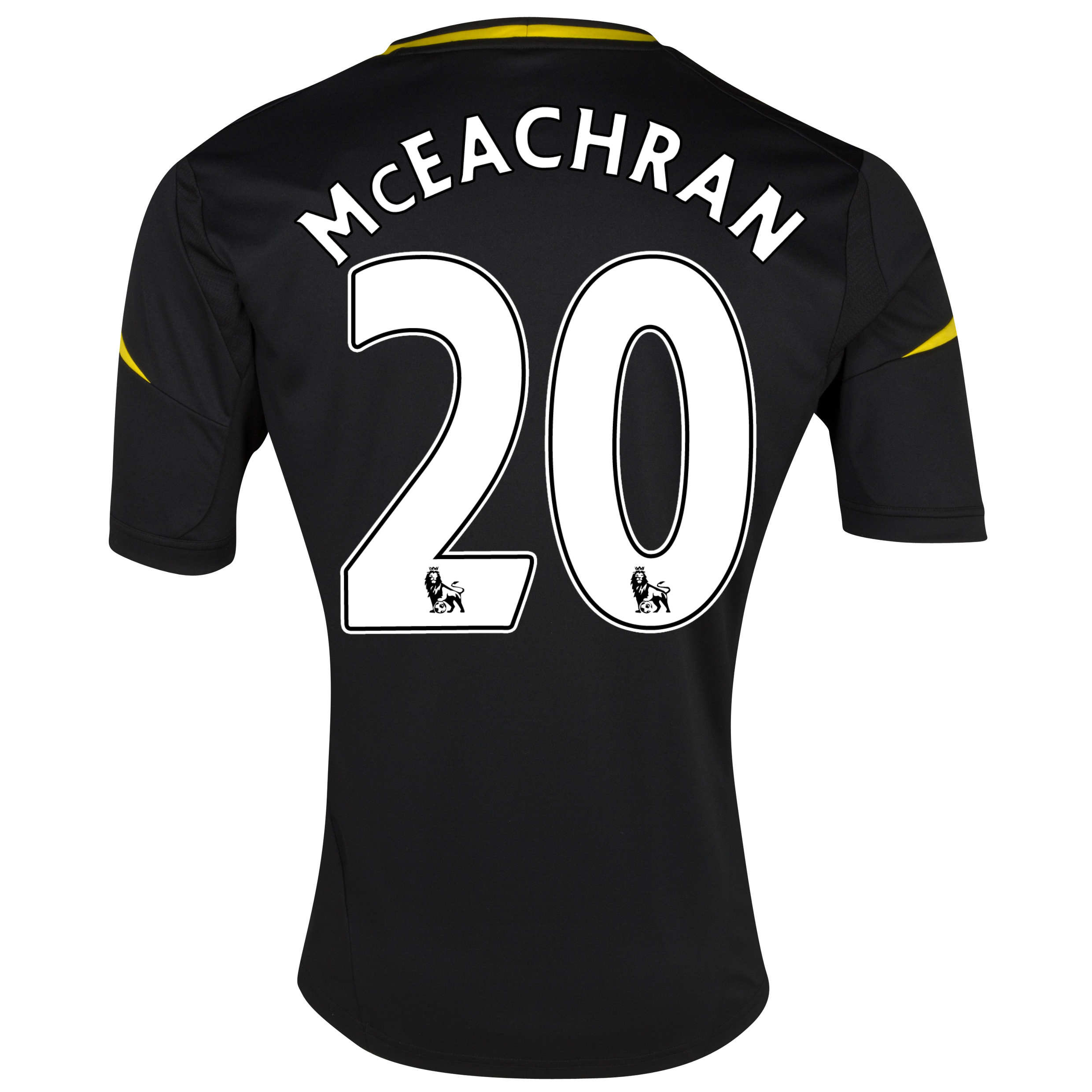 Chelsea Third Shirt 2012/13 with McEachran 20 printing