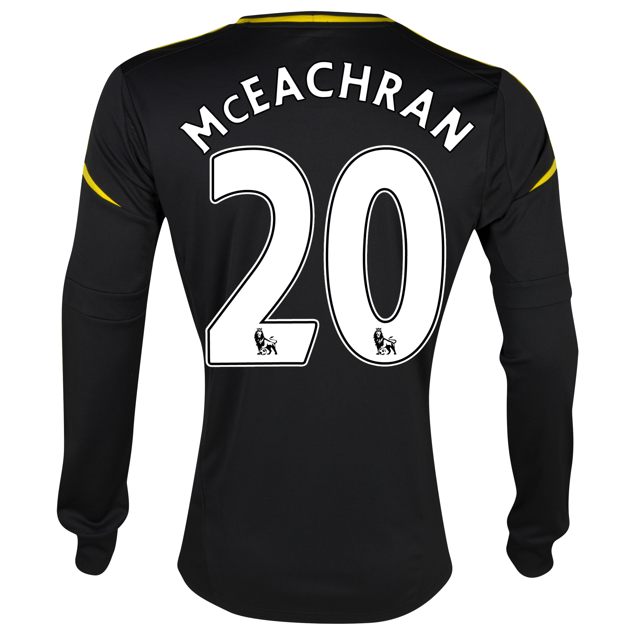 Chelsea Third Shirt 2012/13 - Long Sleeved with McEachran 20 printing