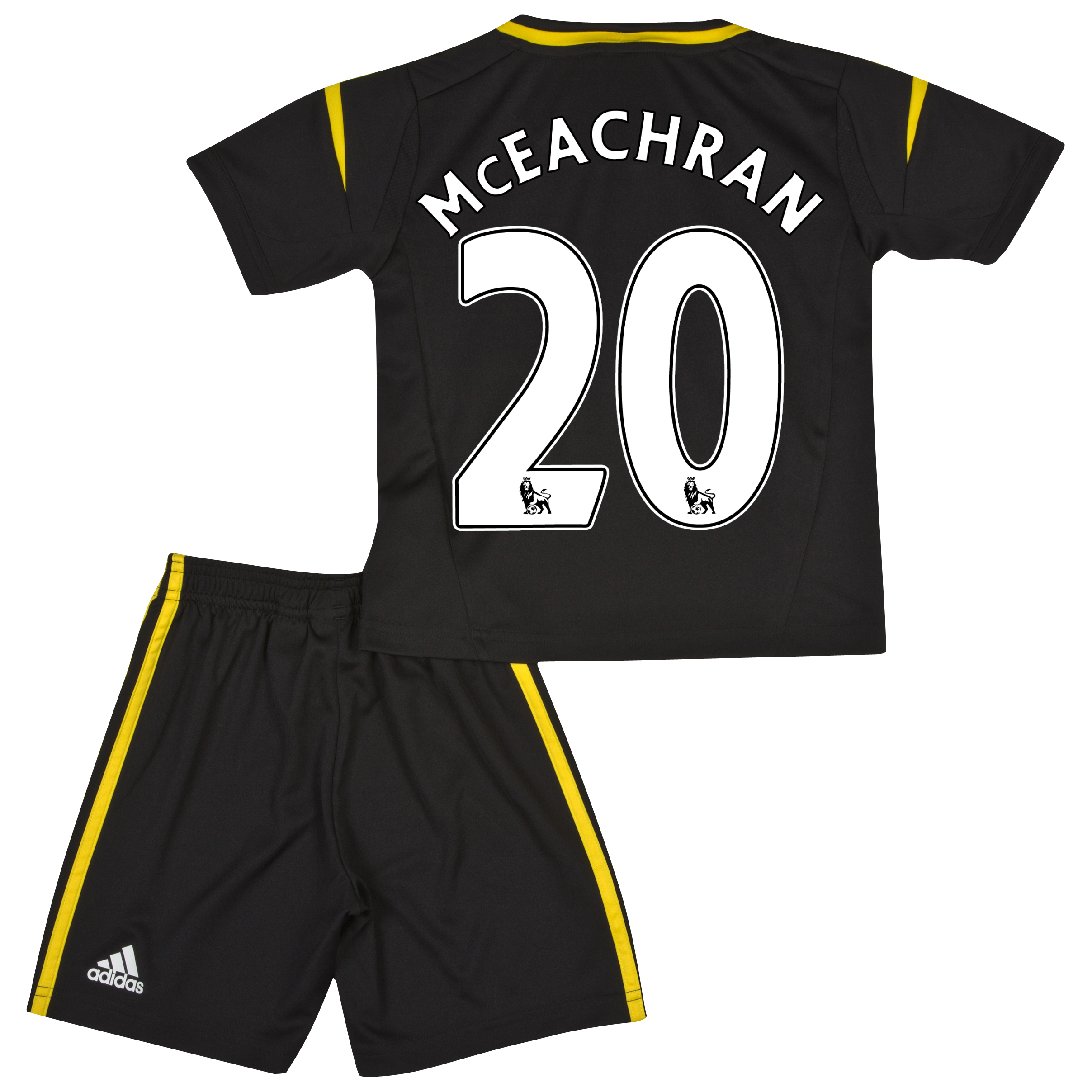 Chelsea Third Mini Kit 2012/13 with McEachran 20 printing