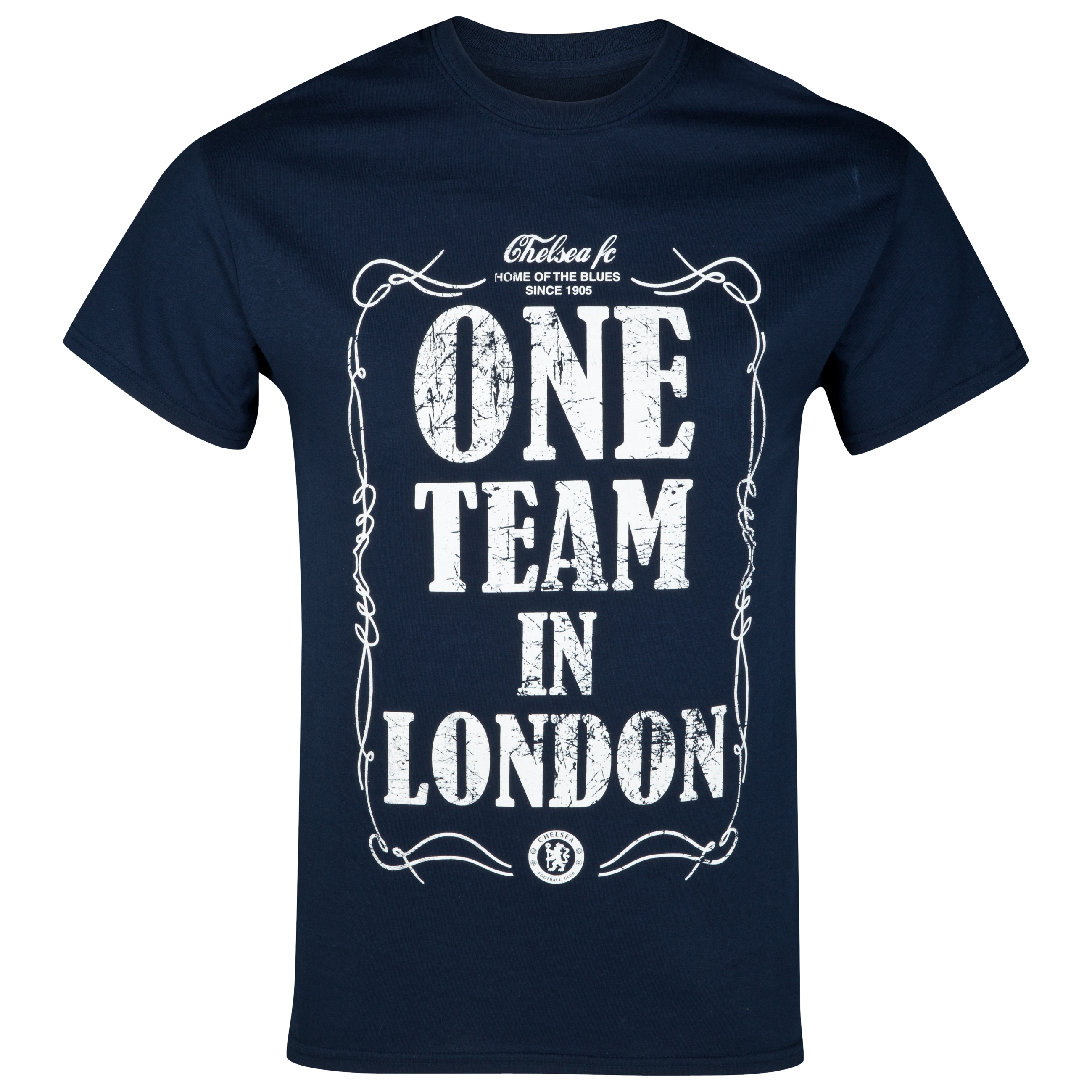 Chelsea One Team T-Shirt - Navy - Mens