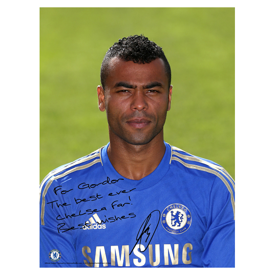 Chelsea Personalised Cole Photocall Poster