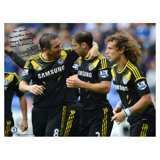 Chelsea Personalised Lampard Congratulations Poster
