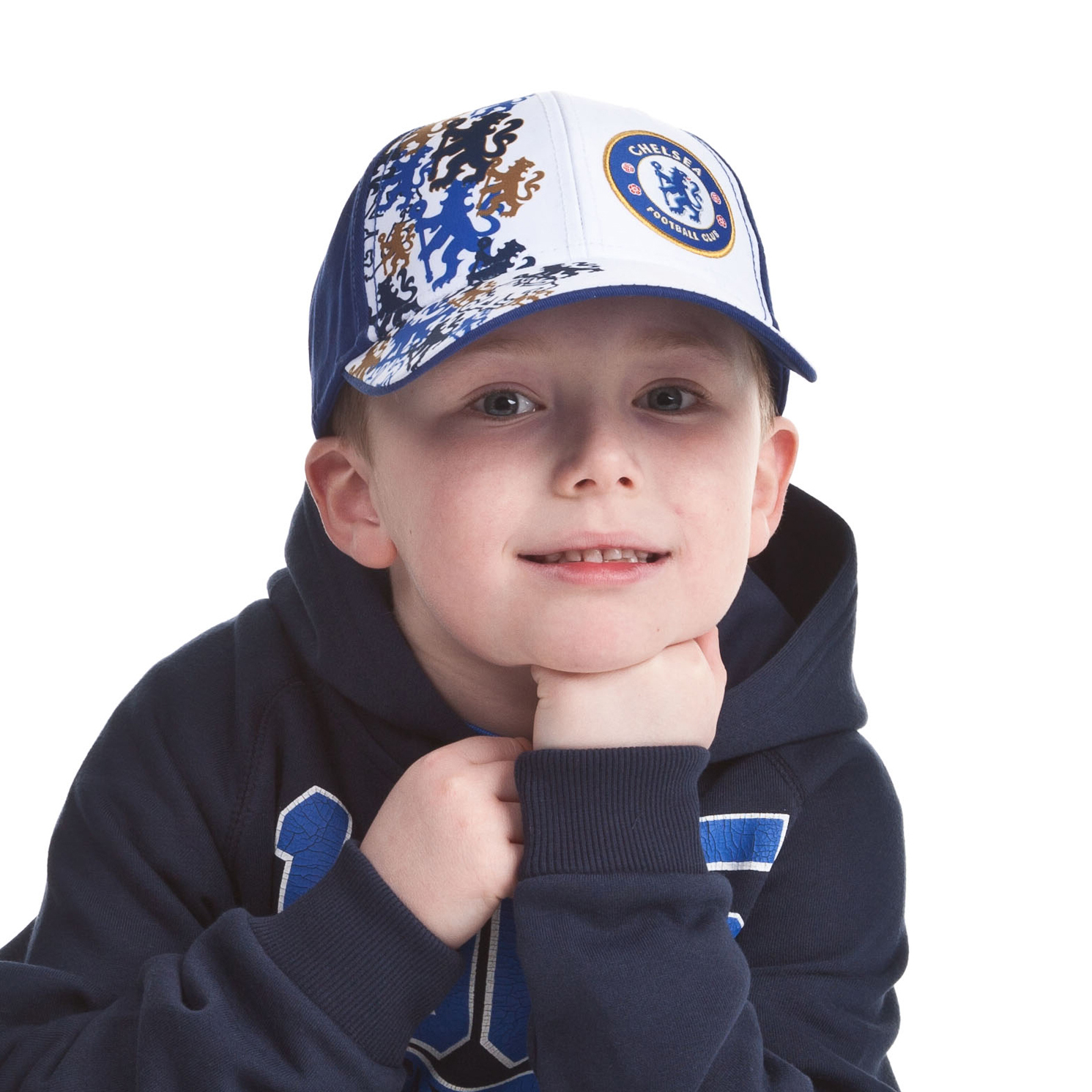 Chelsea Lion Cap - Royal - Boys