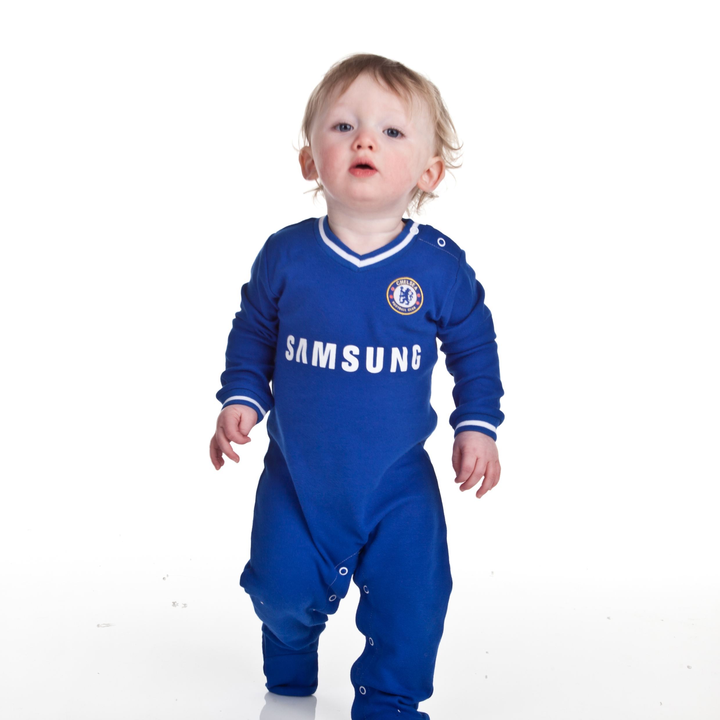 Chelsea Core Kit Sleepsuit - Relex Blue - Baby