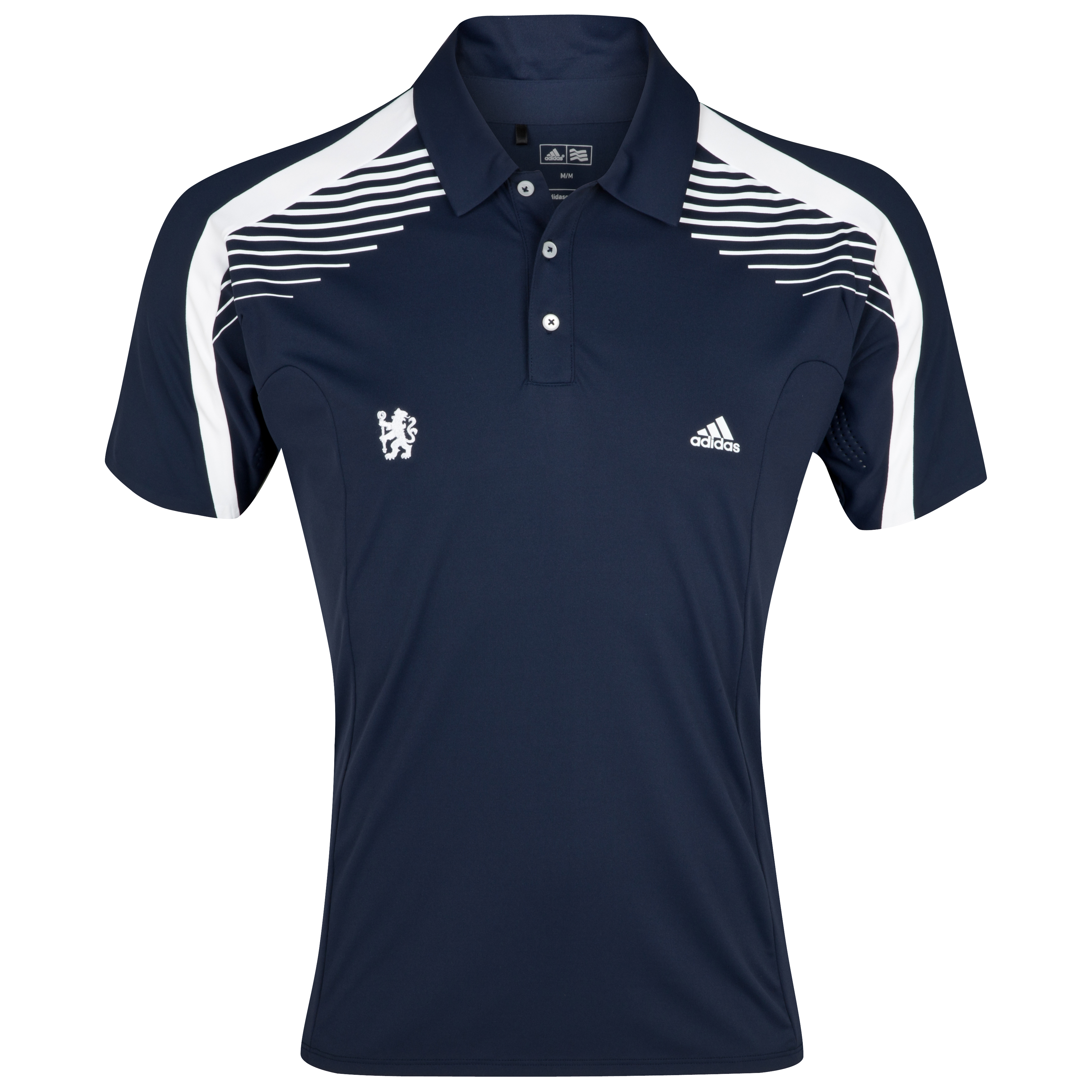 Chelsea Golf ClimaCool Colour Block Polo - Navy/White