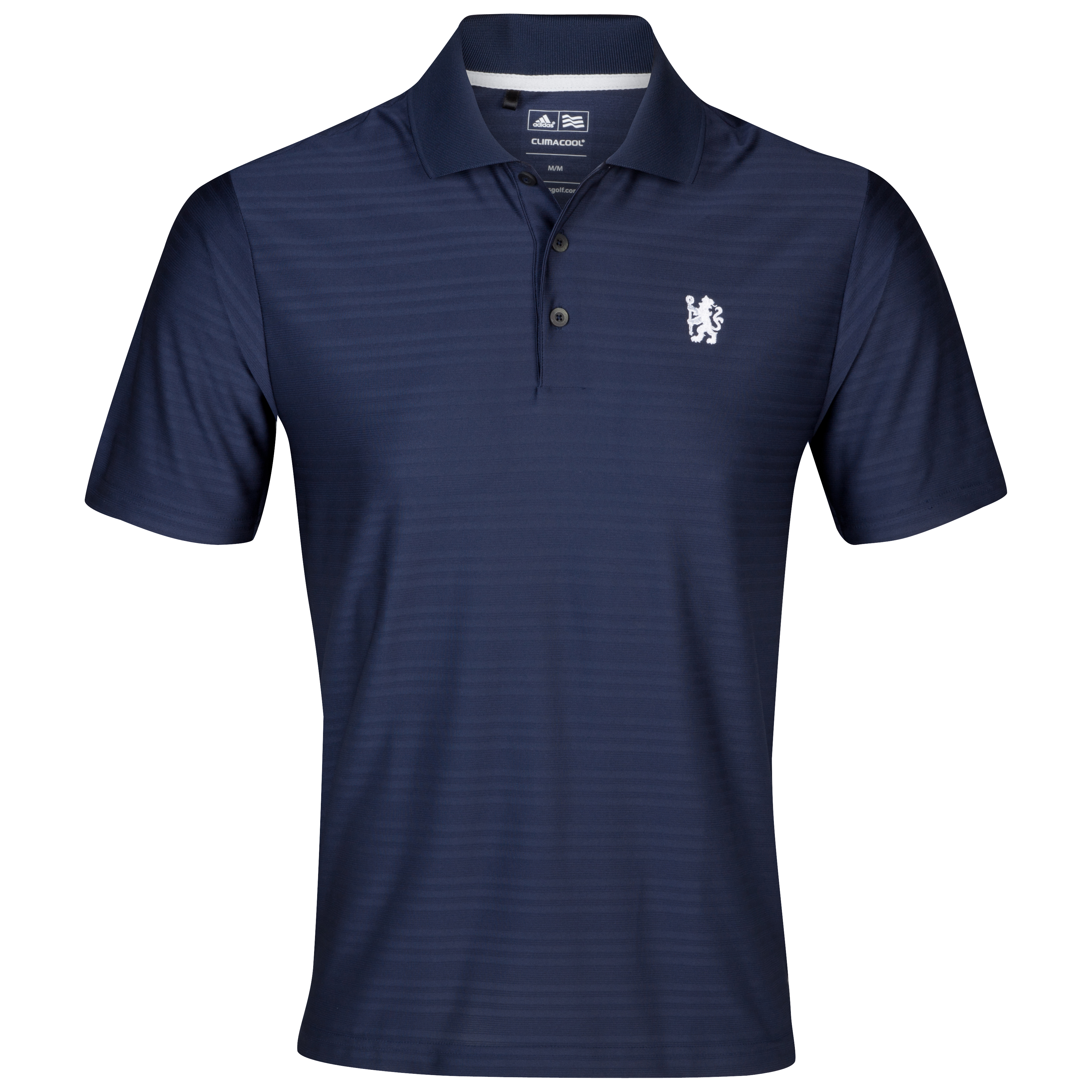 Chelsea Golf ClimaCool Textured Solid Polo - Navy