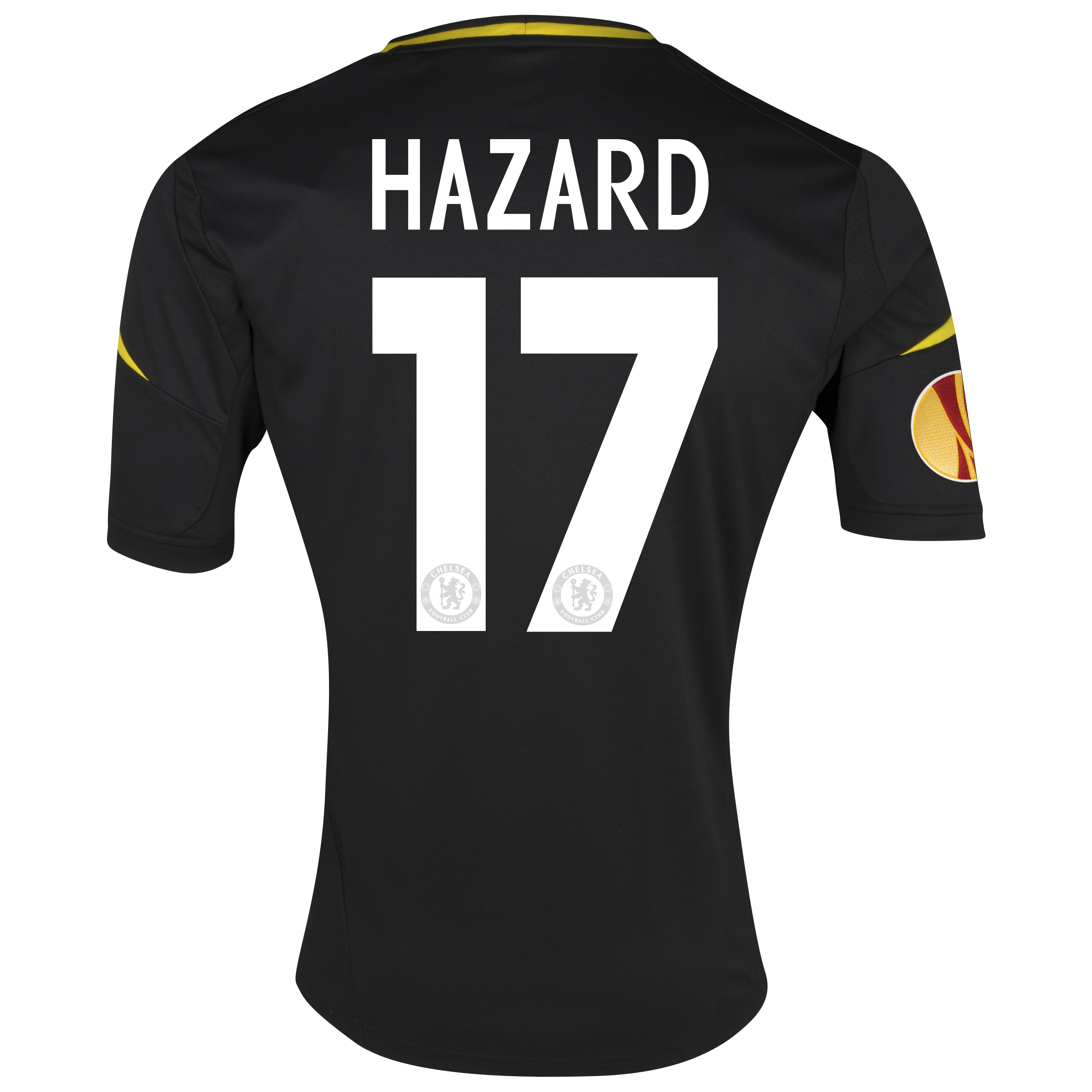 Chelsea UEFA Europa League Third Shirt 2012/13 - Youths with Hazard 17 printing Including Europa Badge