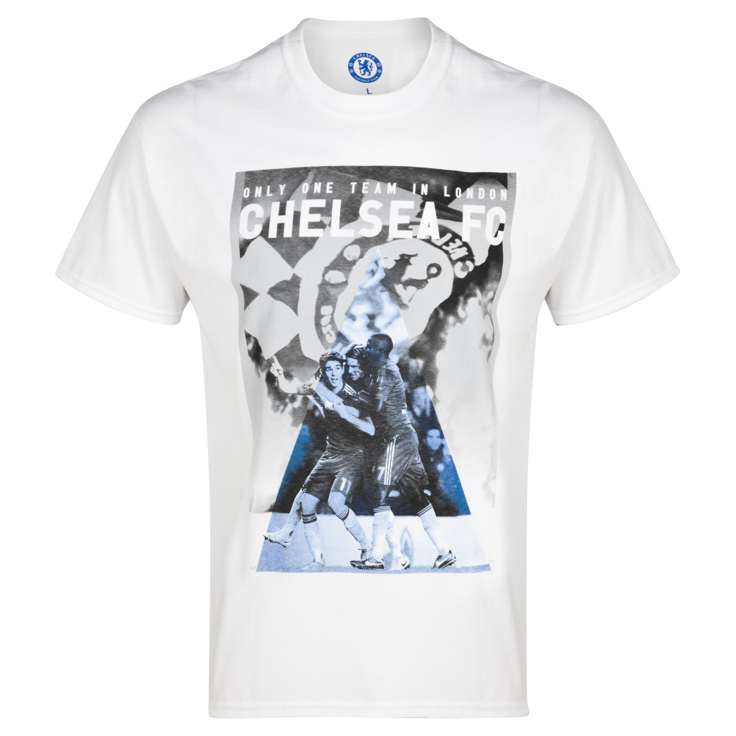 Chelsea 3 Player T-Shirt - White - Mens