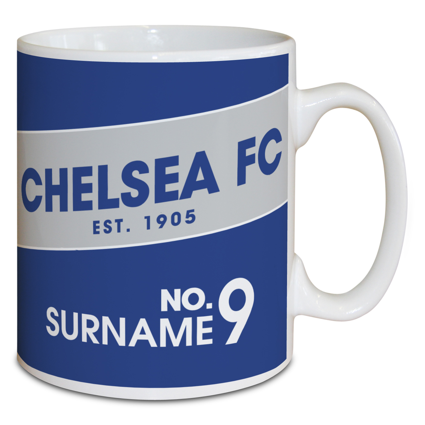 Chelsea Personalised Retro Mug