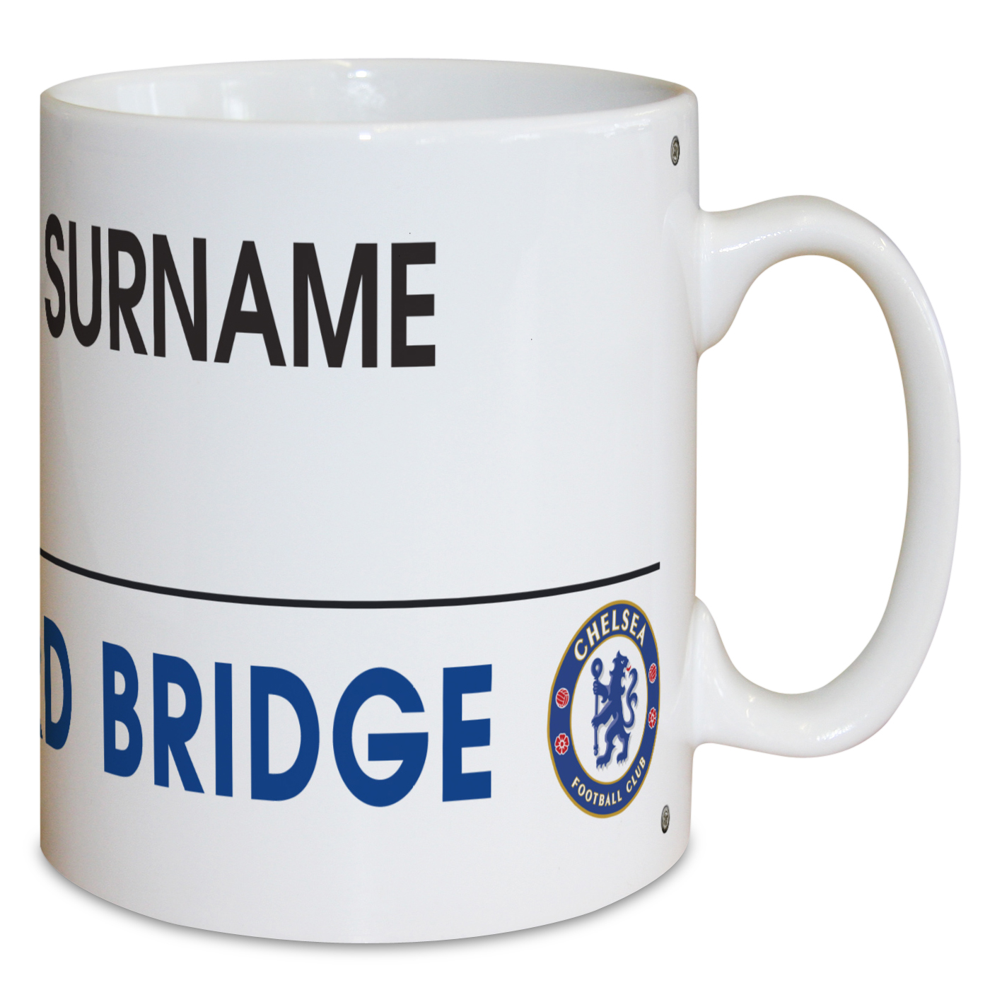 Chelsea Personalised Street Sign Mug
