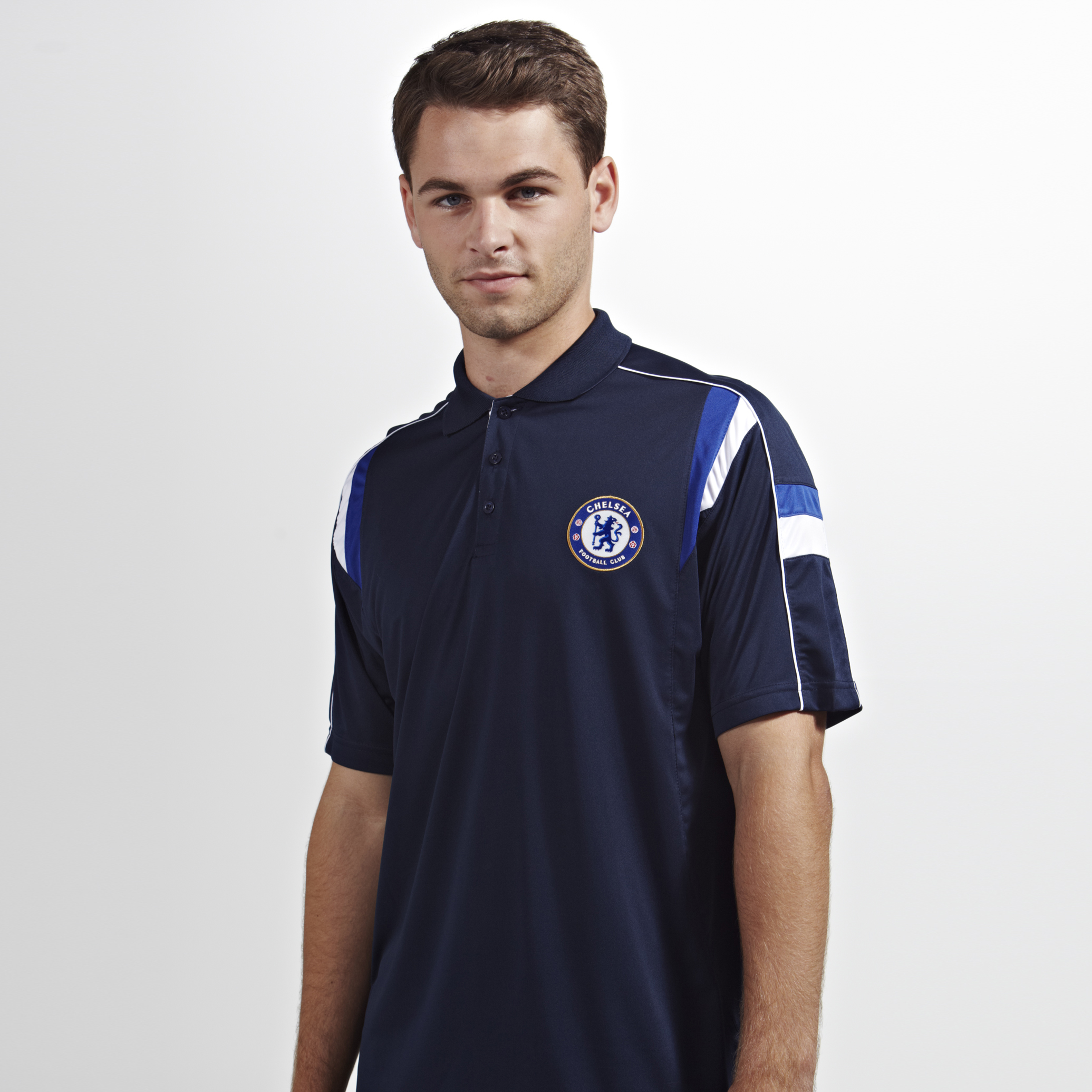 Chelsea Basic Poly Panel Polo  - Mens Navy