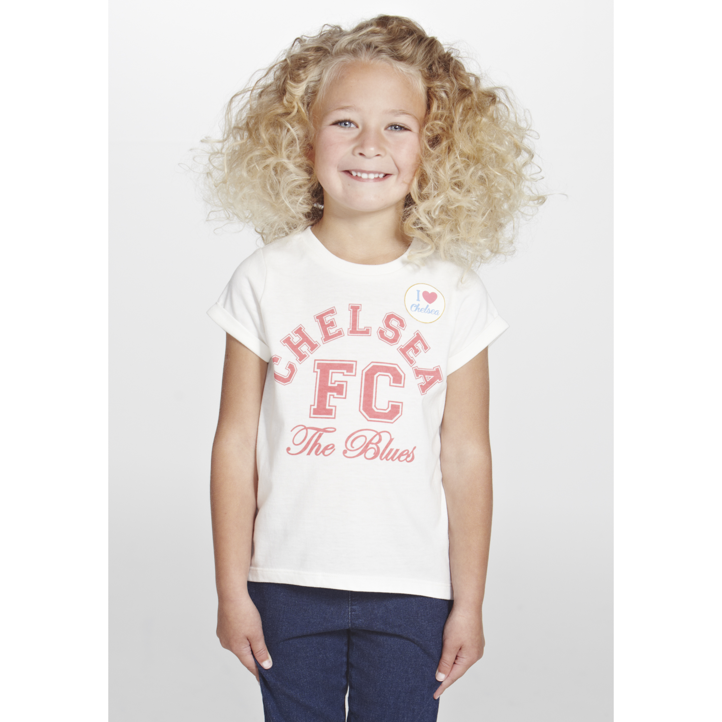 Chelsea Scoop Back Hem T-Shirt  - Infant Girls Beige