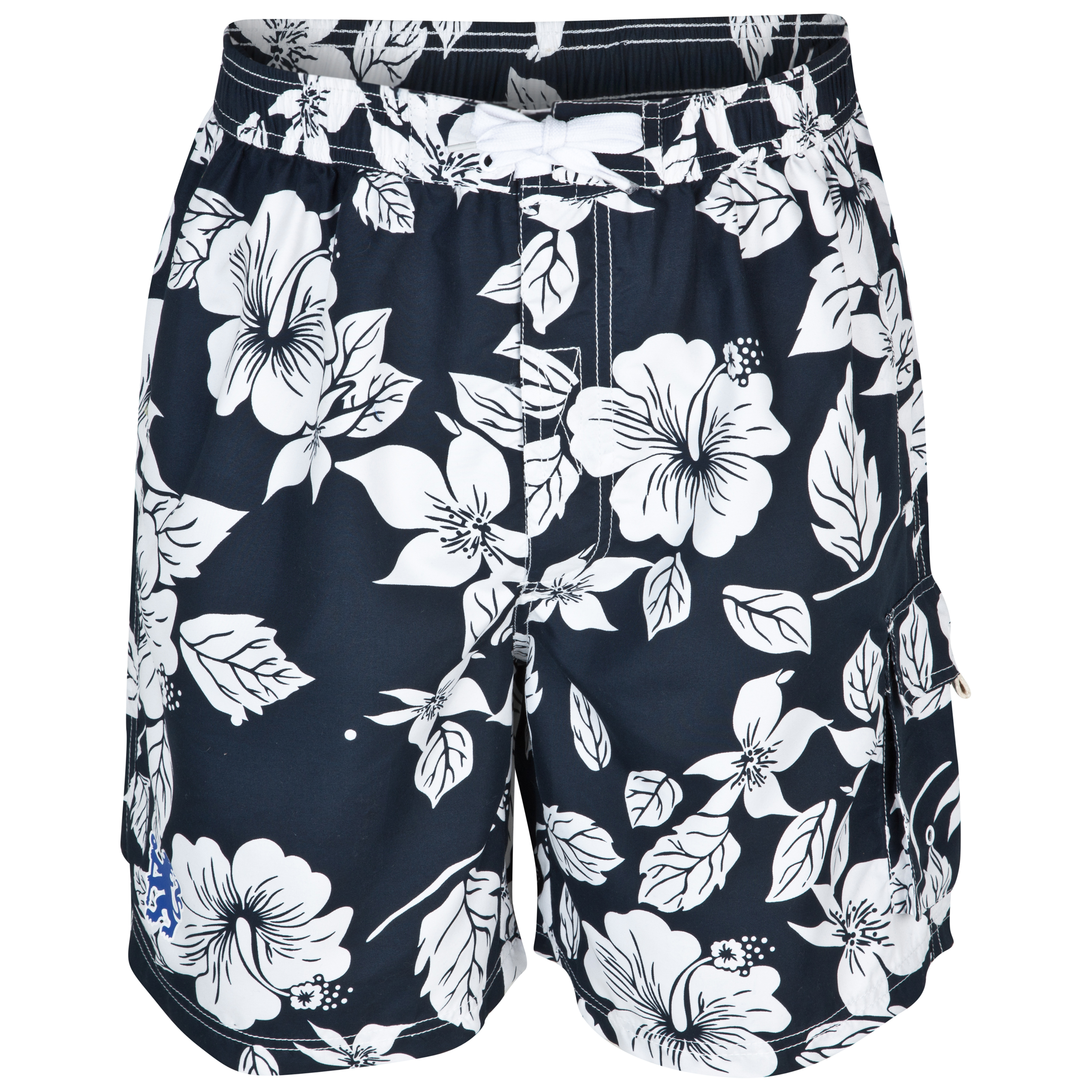 Chelsea Floral Board Shorts - Mens Navy