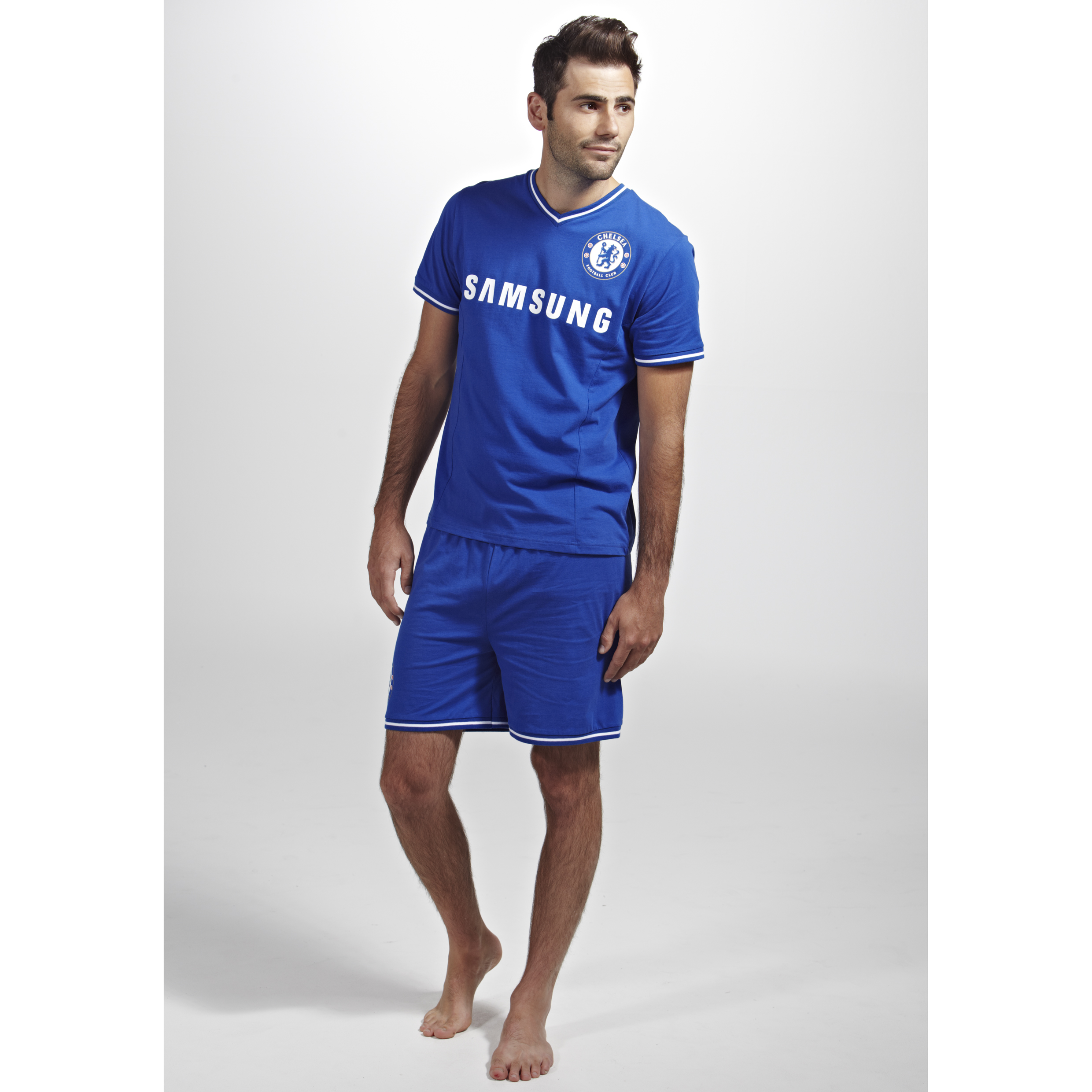 Chelsea Home Kit Pyjama Royal Mens Royal Blue