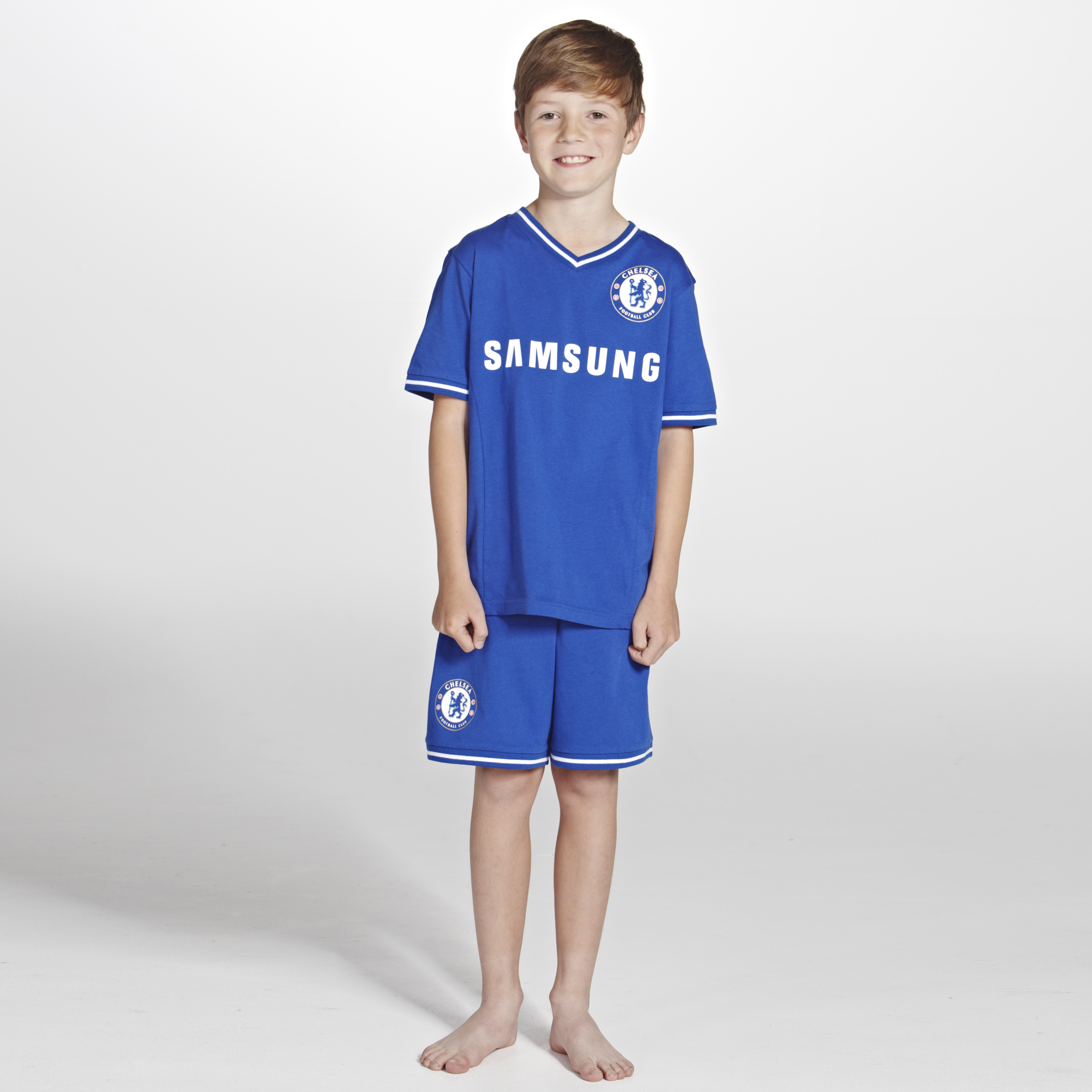 Chelsea Home Kit Pyjama Royal Boys Royal Blue
