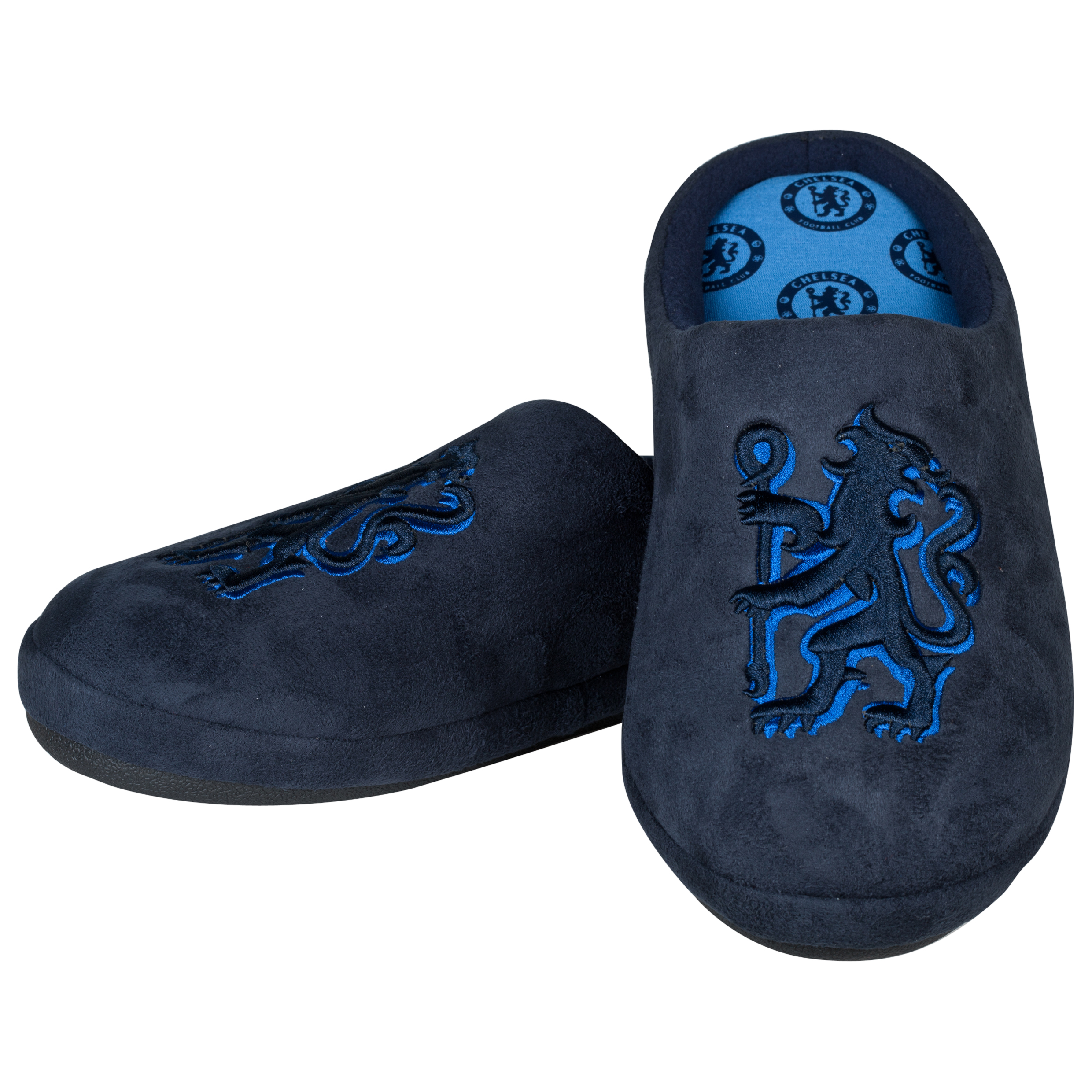 Chelsea Contour Lion Slipper Navy Mens Navy