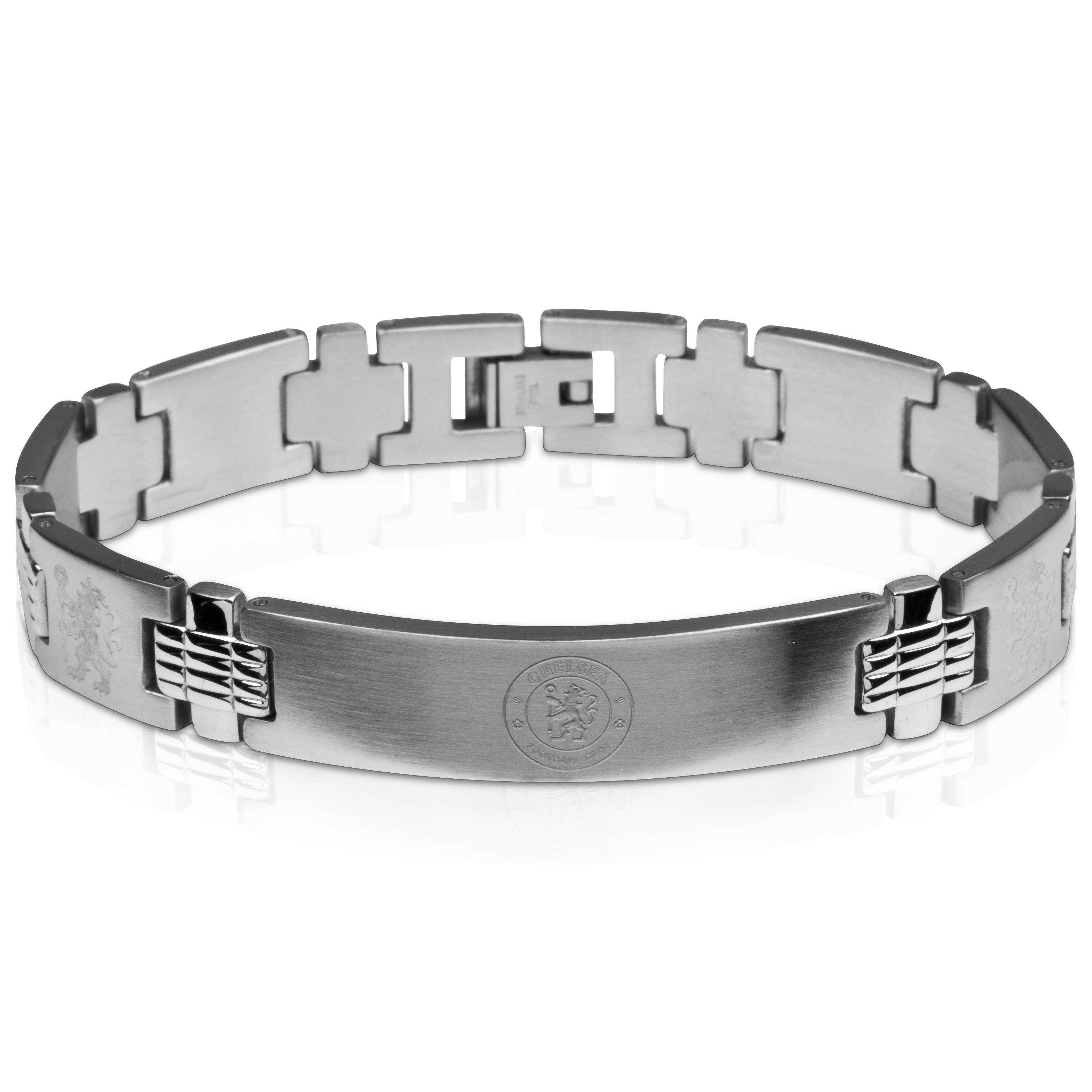 Chelsea Crest with Multi Lion Bracelet - Stainless Steel