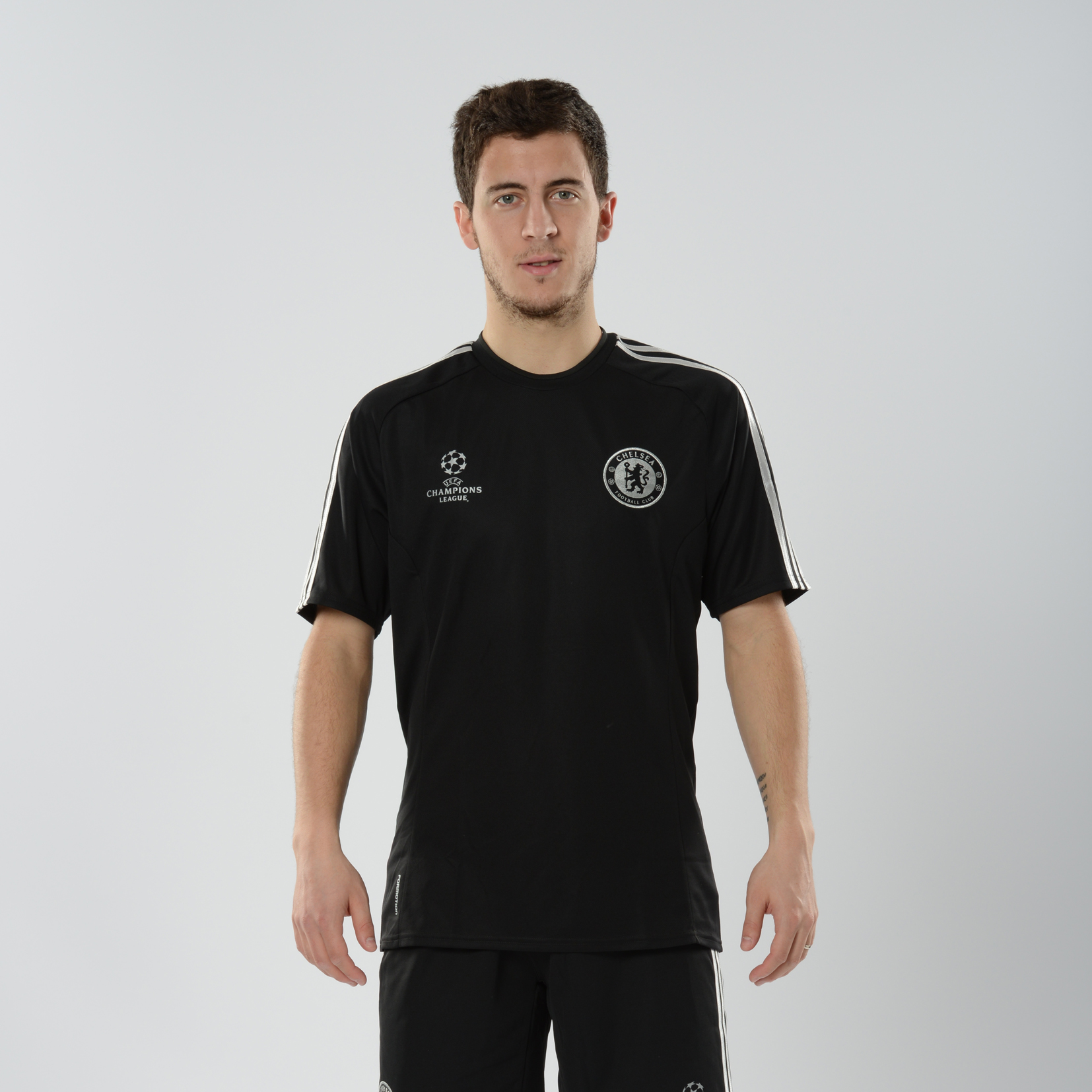 Chelsea UCL Training Jersey Black