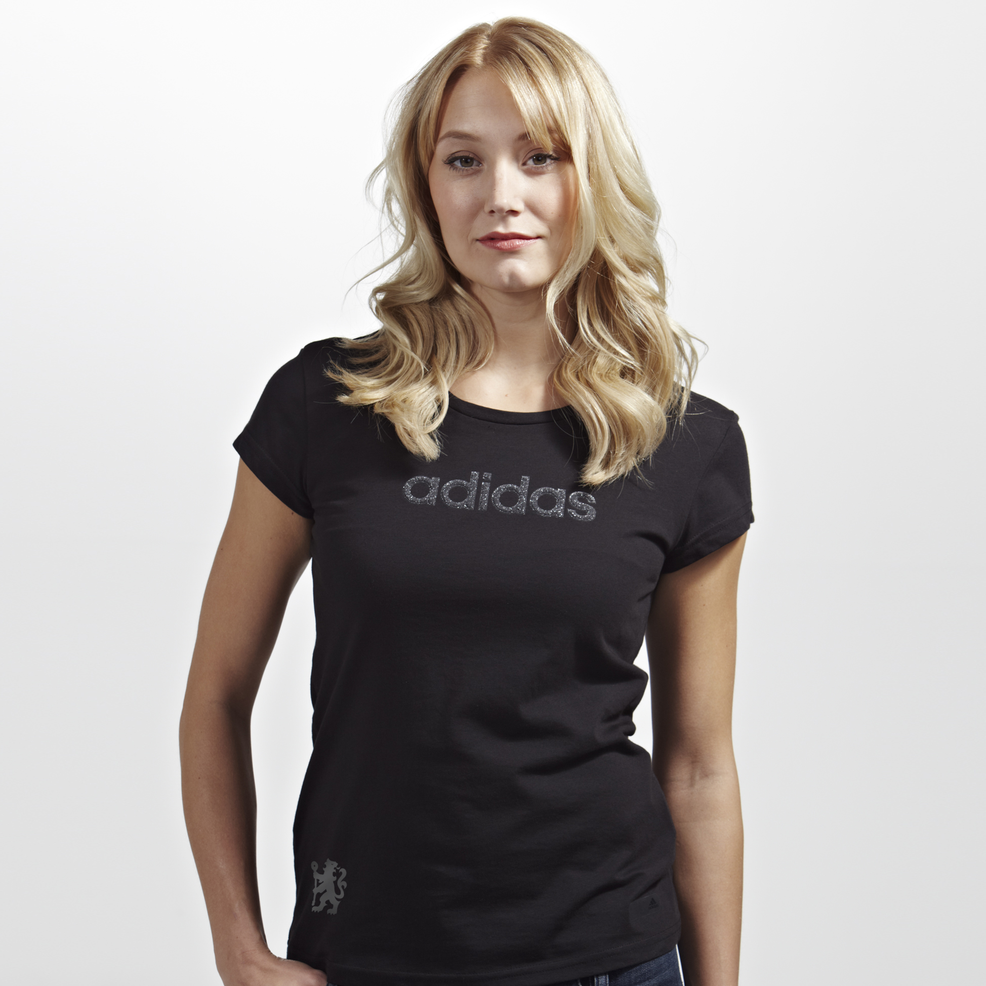 Chelsea adidas Glam T-Shirt - Womens Black