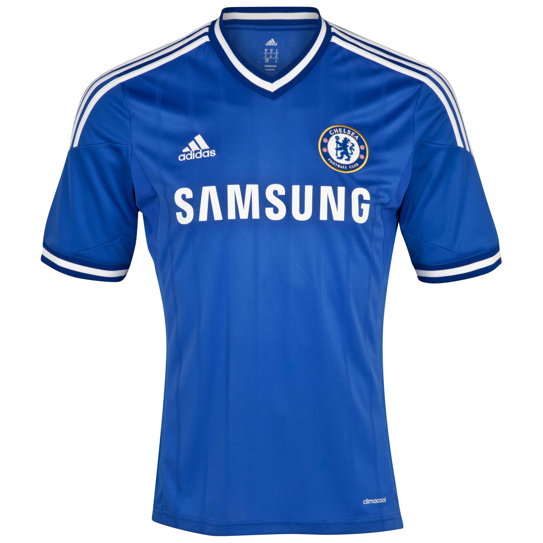 Chelsea Home Shirt 2013/14 - Outsize