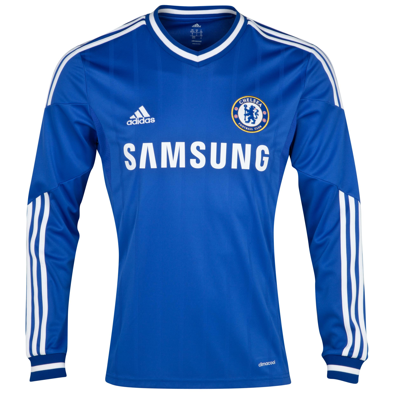 Chelsea Home Shirt 2013/14 - Long Sleeve - Kids