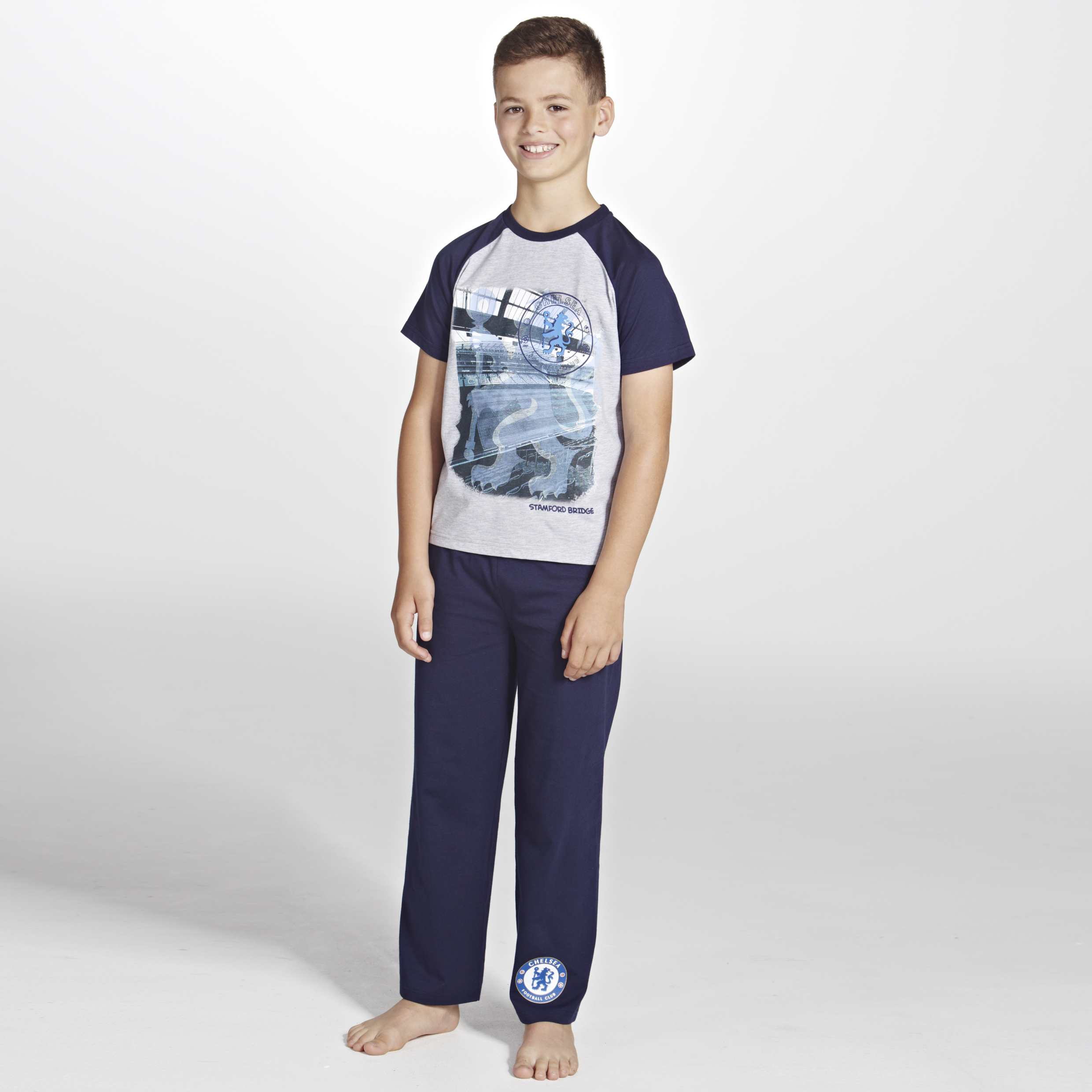 Chelsea Stadium Pyjamas- Boys Navy