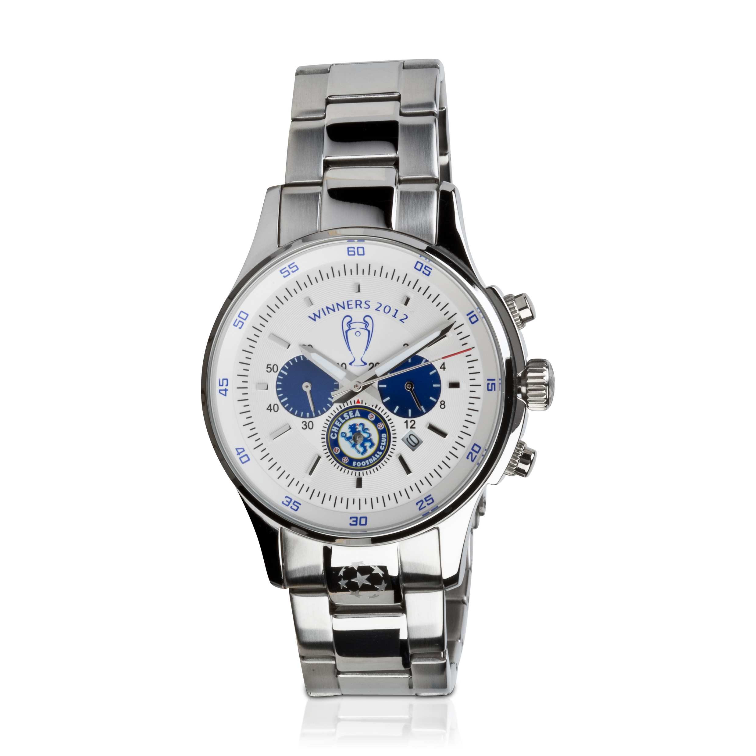 Chelsea Past Winners Champions Of Europe 2012 JACQUES LEMANS Bracelet Watch