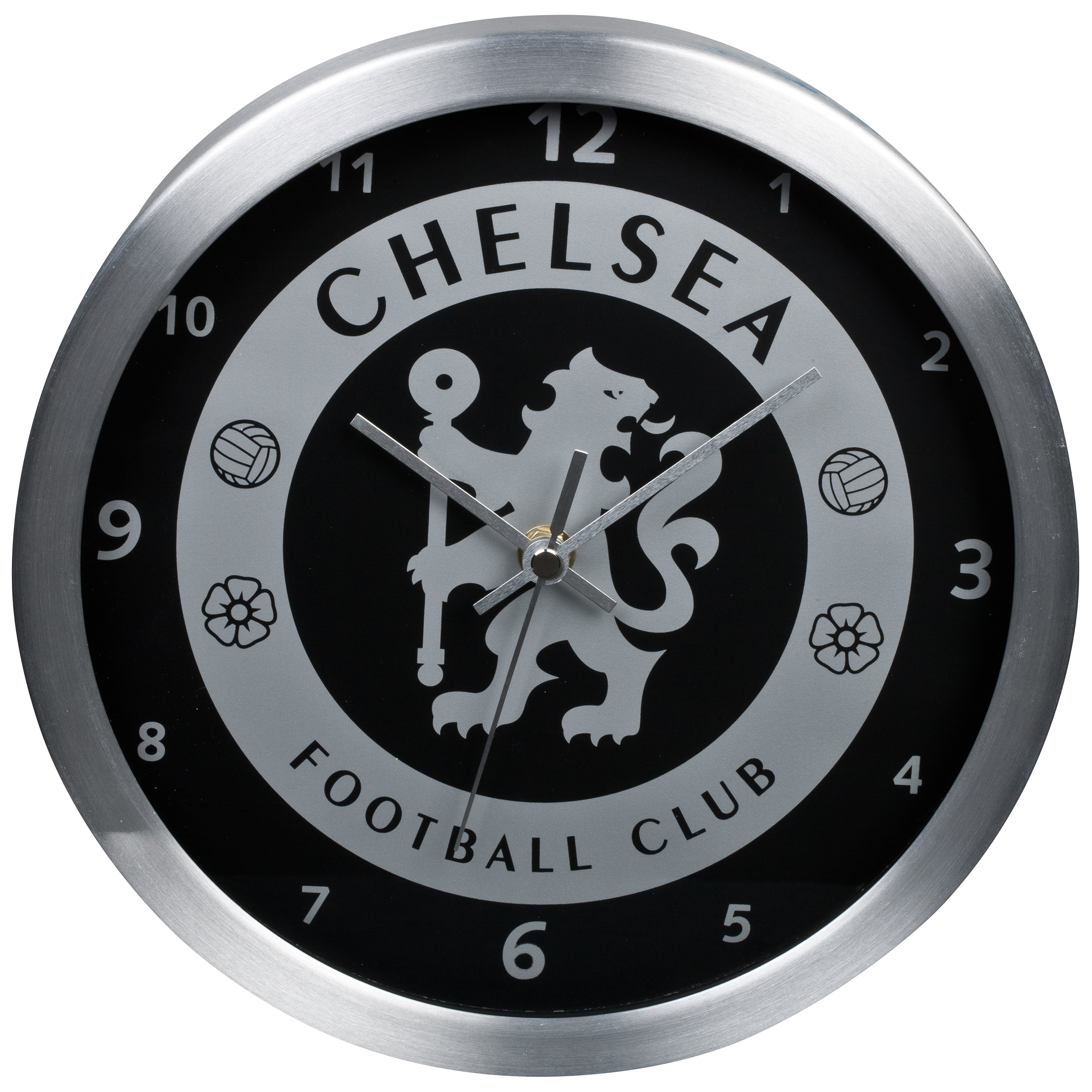 Chelsea Metallic Wall Clock