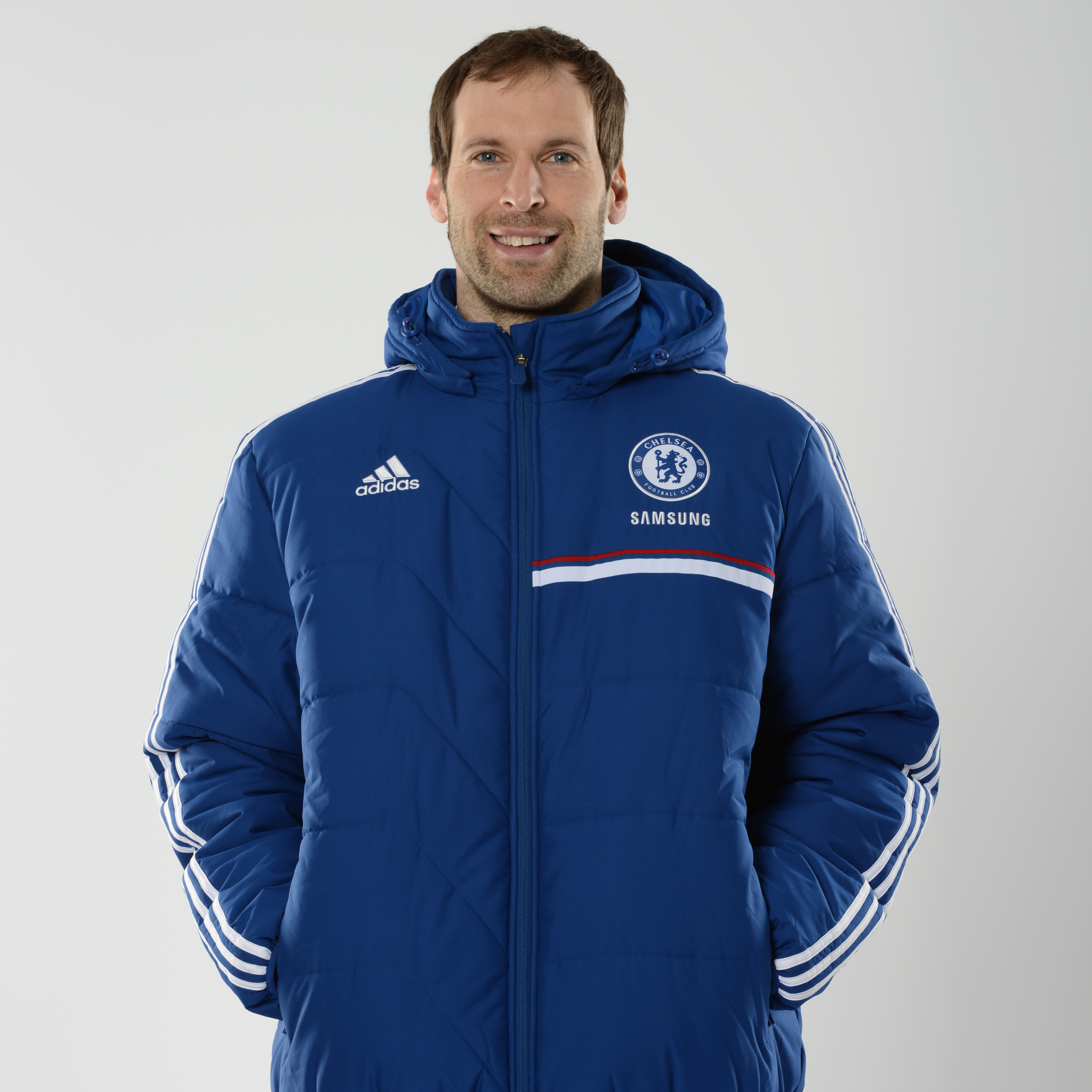 Chelsea Training Padded Jacket Dk Blue