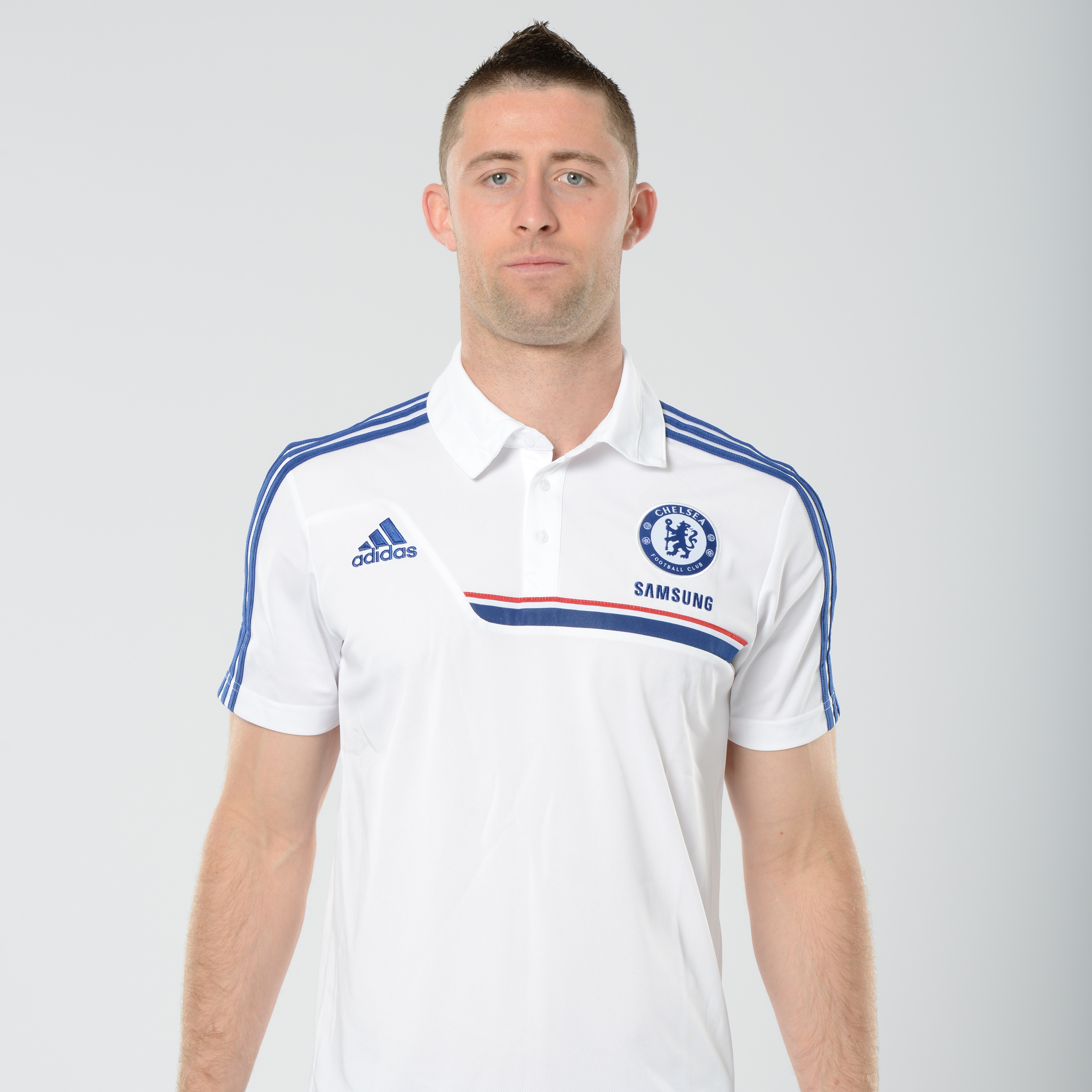 Chelsea Training Polo White