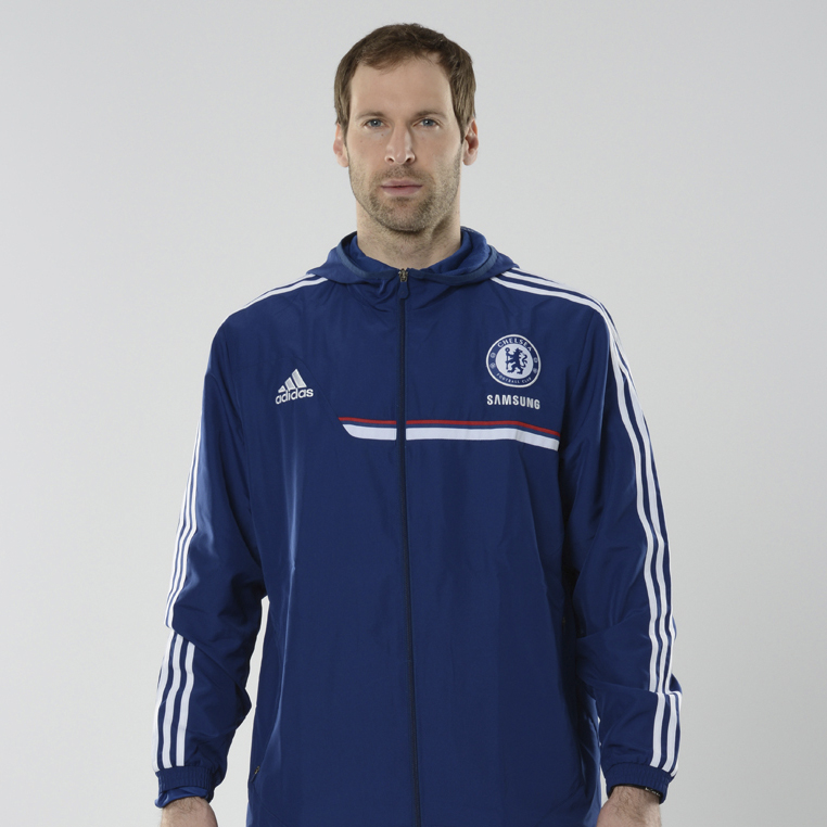 Chelsea Training Presentation Jacket Dk Blue
