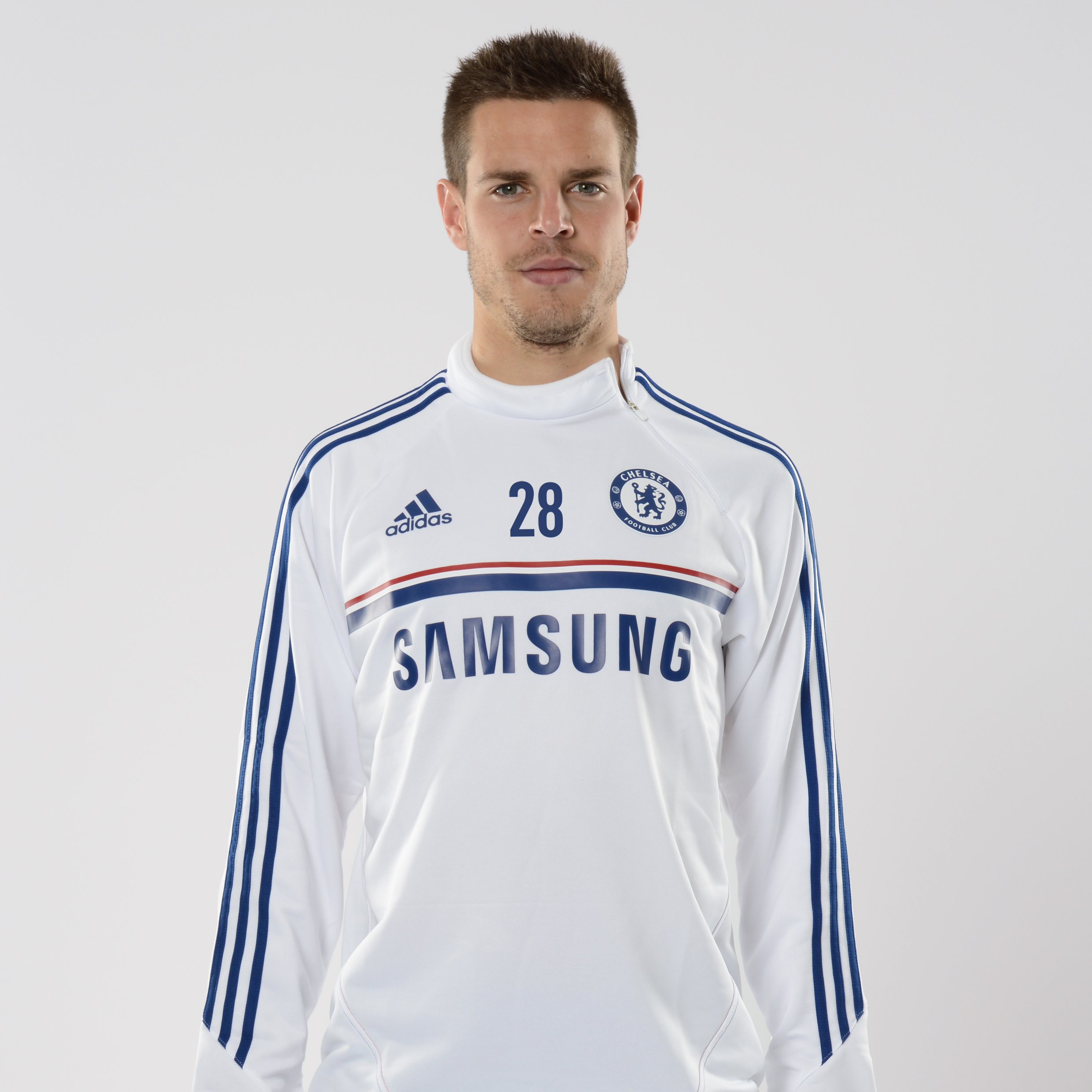 Chelsea Training Top White