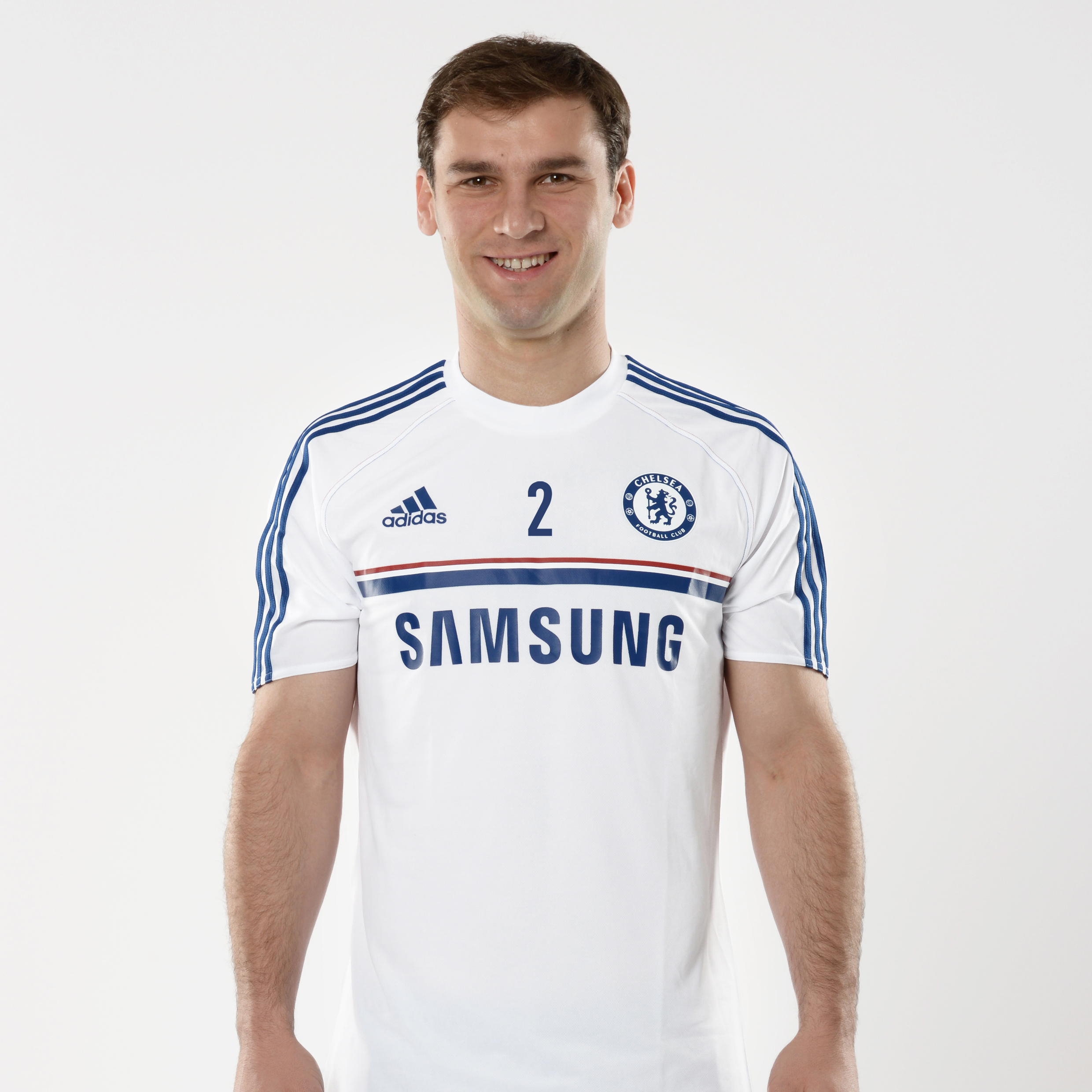Chelsea Training Jersey White