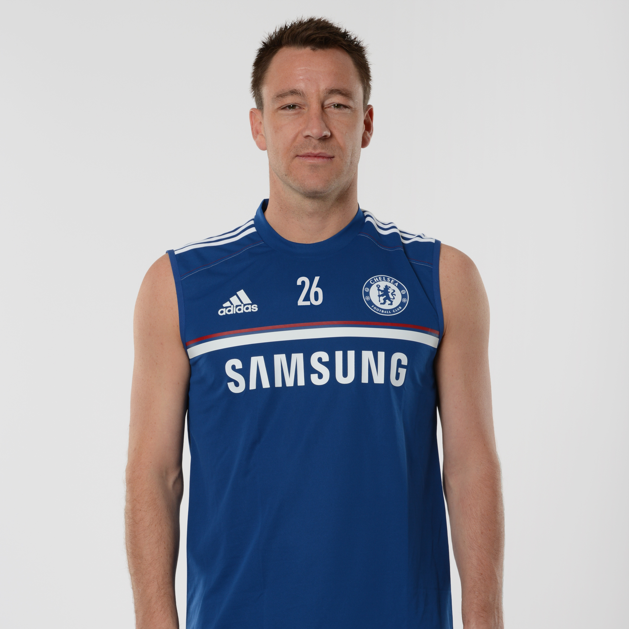 Chelsea Training Sleeveless Jersey Dk Blue