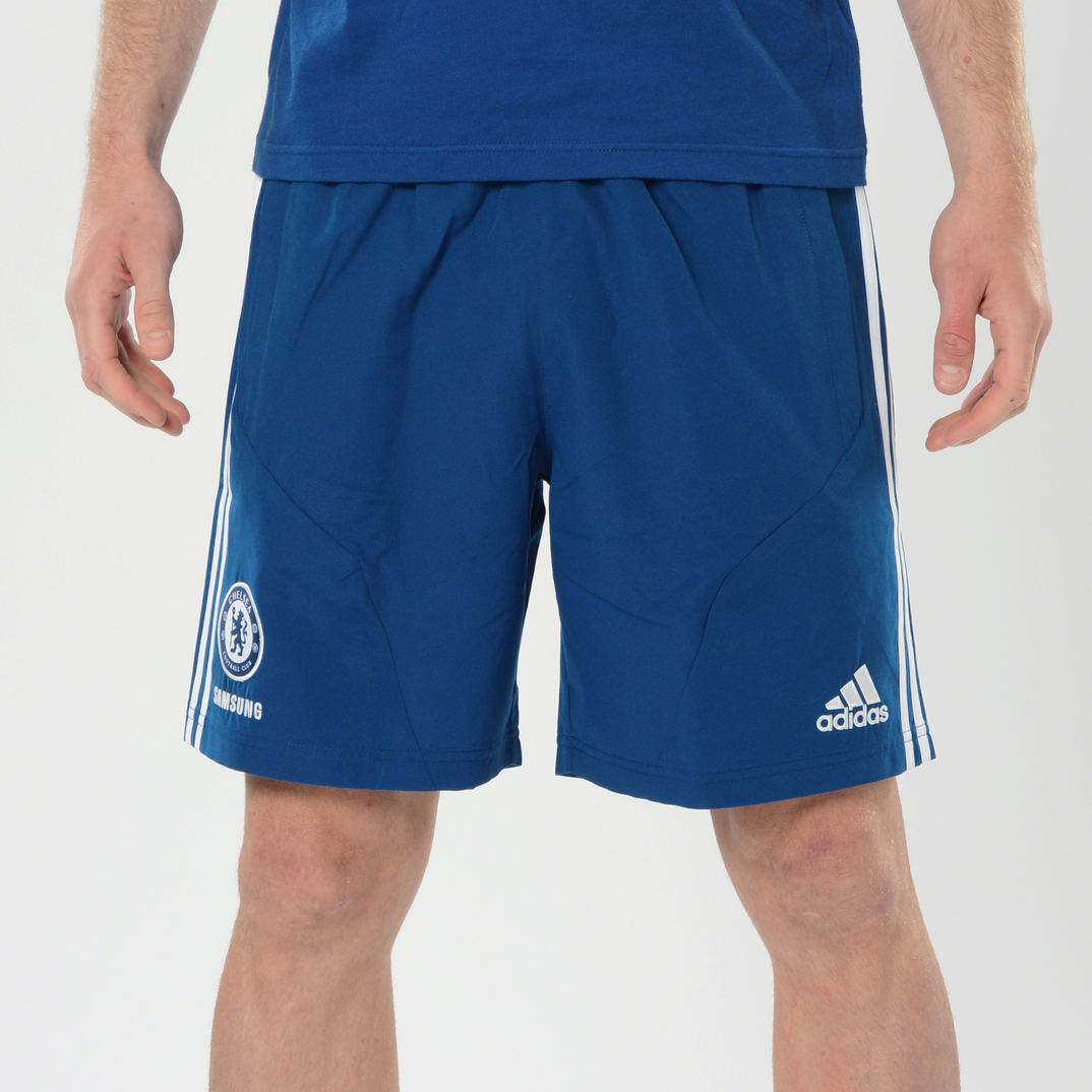 Chelsea Training Woven Short Dk Blue