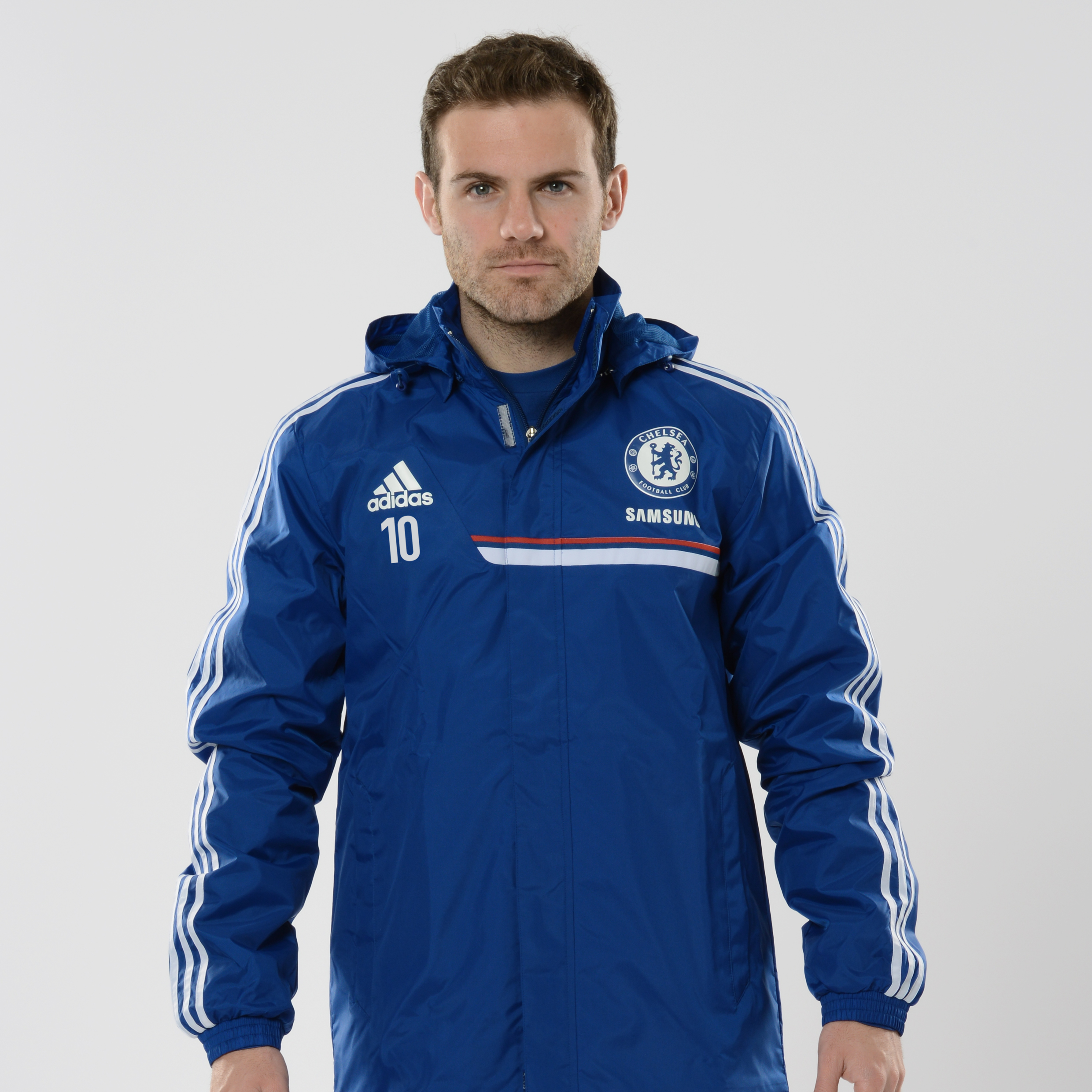 Chelsea Training All Weather Jacket Kids Dk Blue