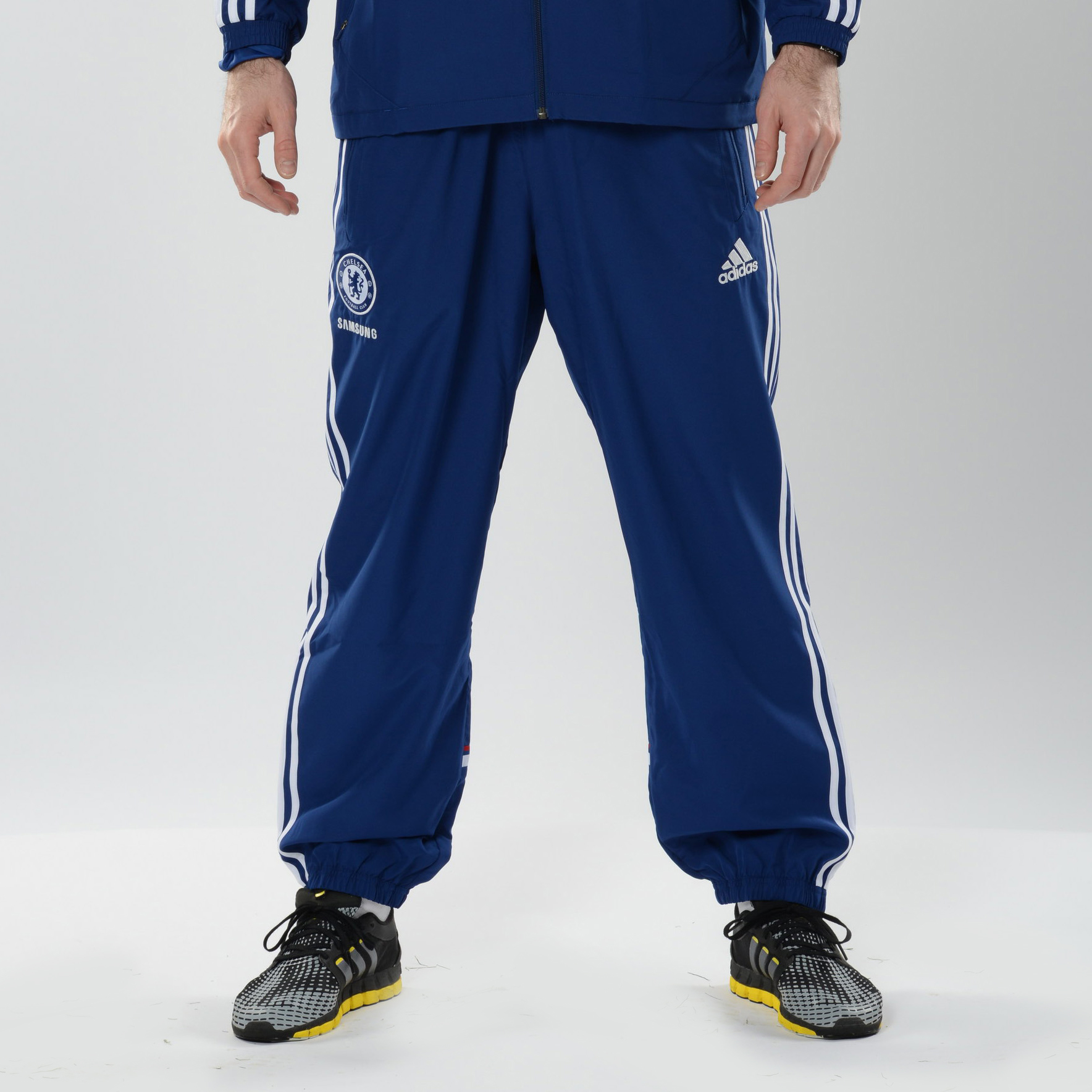 Chelsea Training Presentation Pant Kids Dk Blue