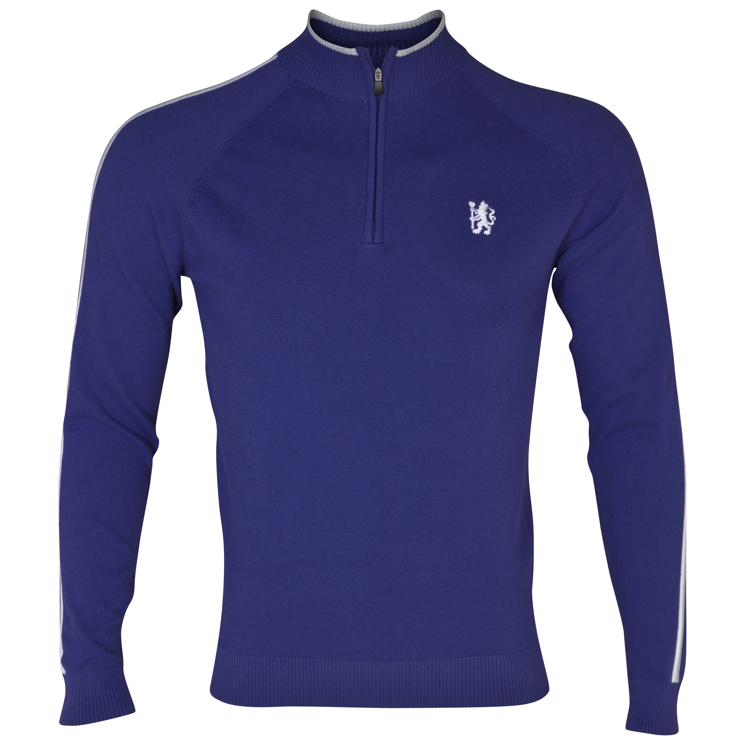 Chelsea Golf 1/2 Zip Club Sweatshirt Royal Blue