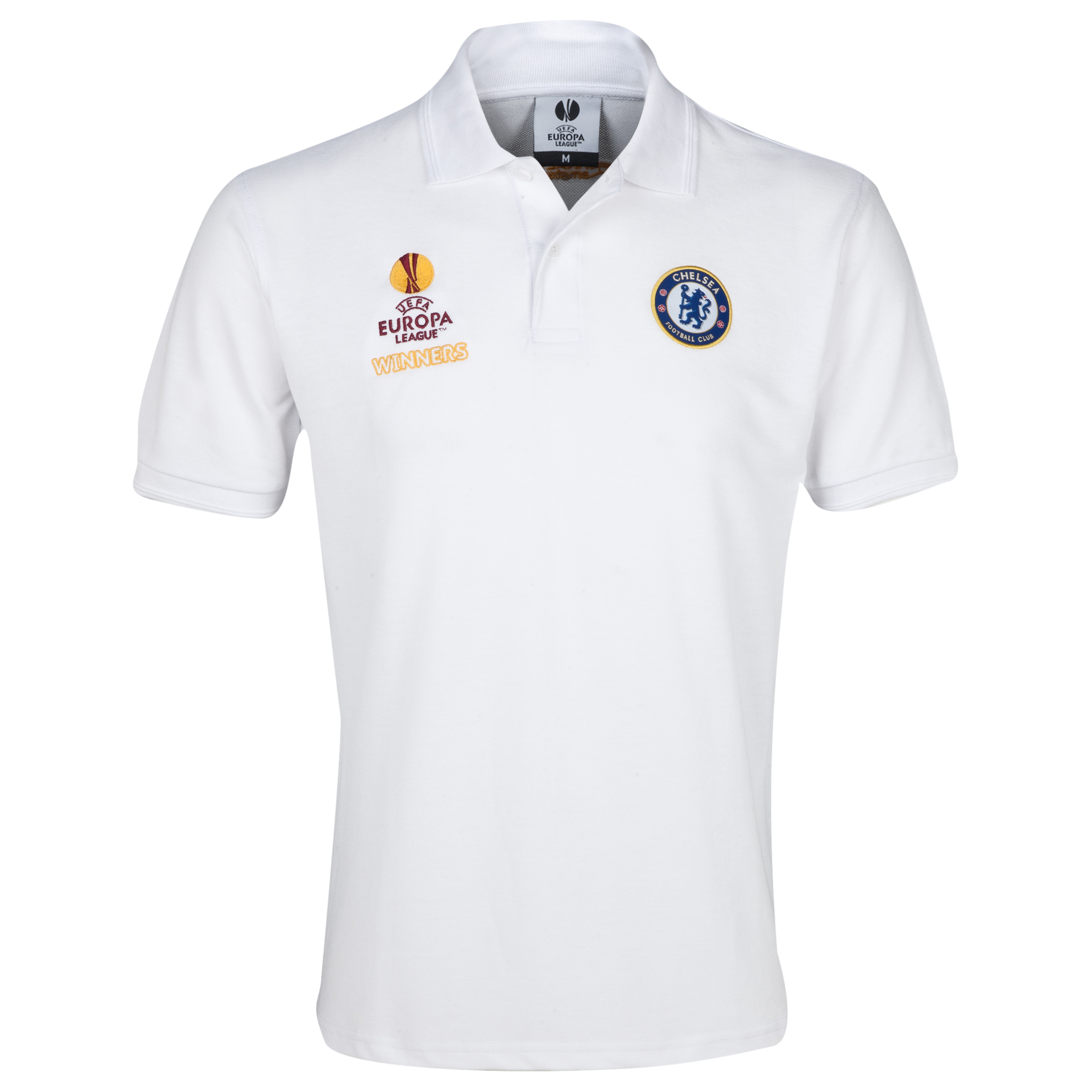 Chelsea UEFA Europa League Winners 2013 Polo White
