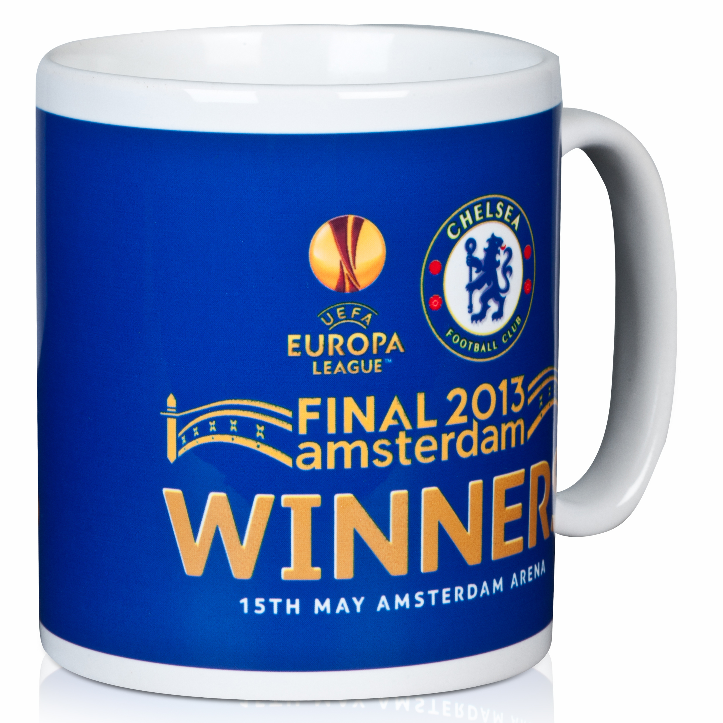 Chelsea EUROPA League 2013 Winners Mug