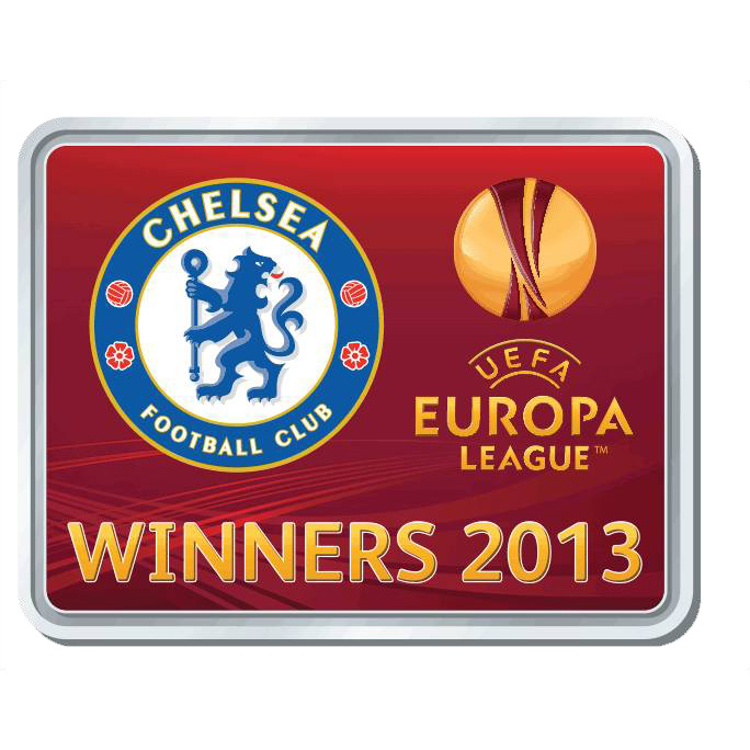 Chelsea EUROPA League 2013 Winners Fridge Magnet