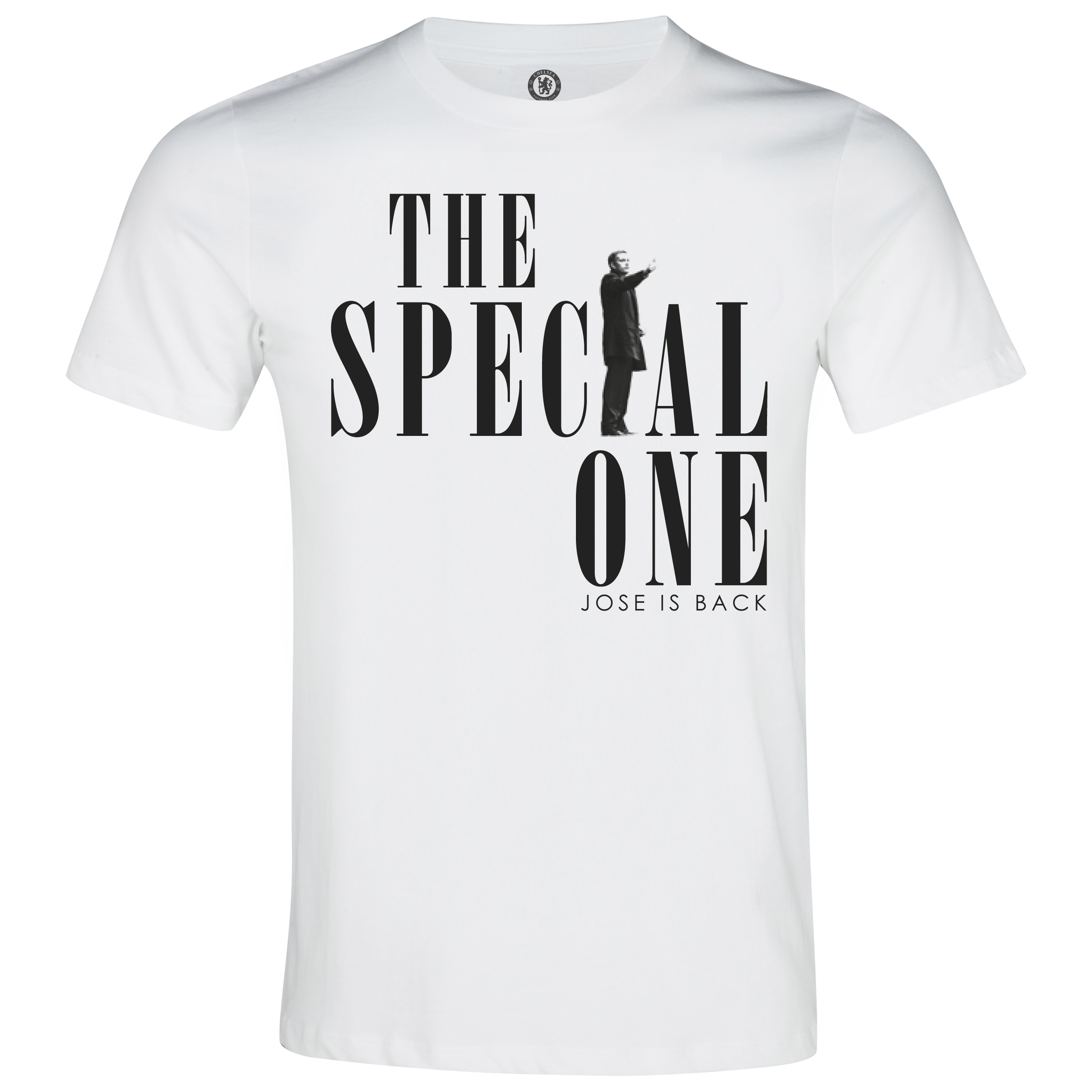 Chelsea Mourinho The Special One T-Shirt White