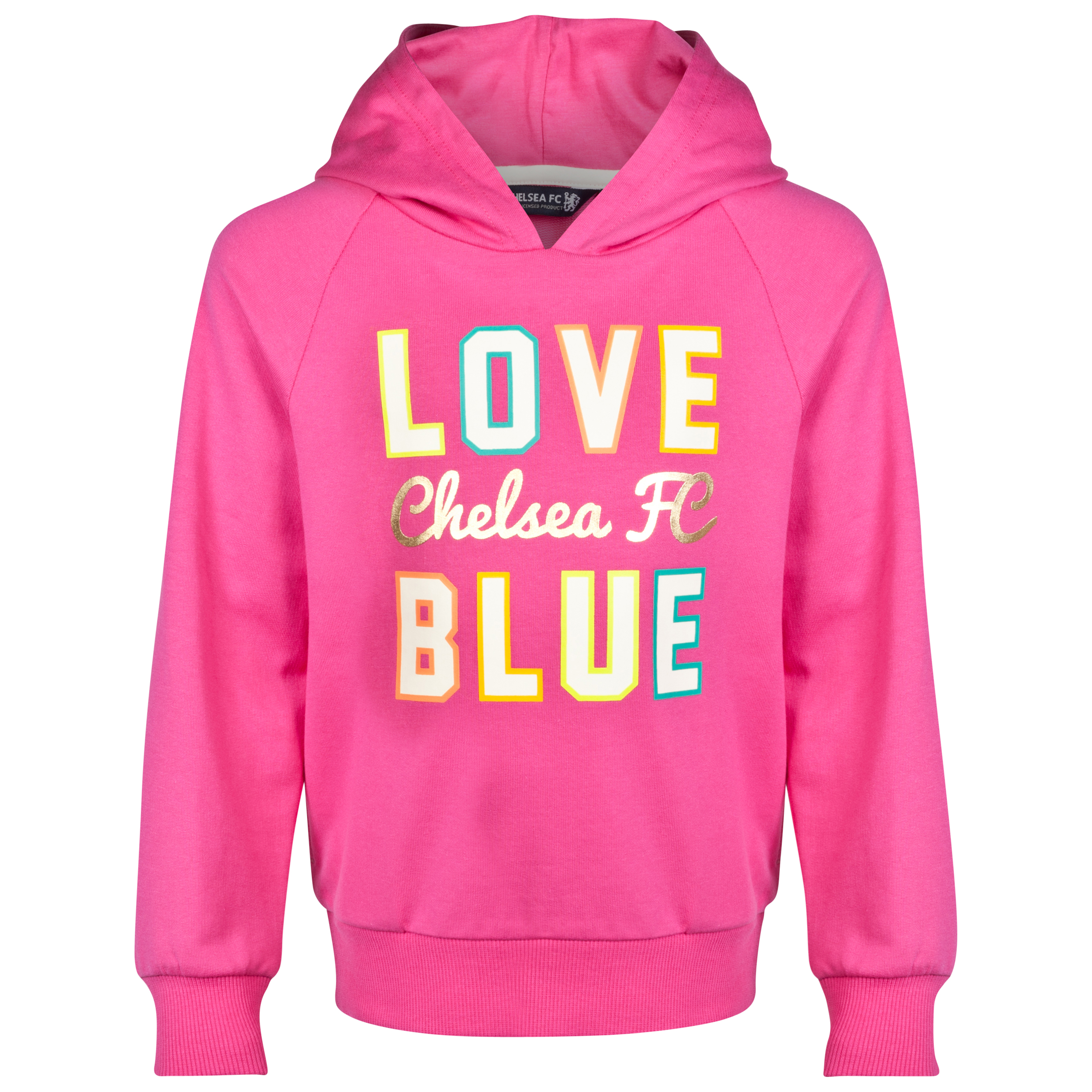 Chelsea Graphic Hoodie - Infant Girls Pink
