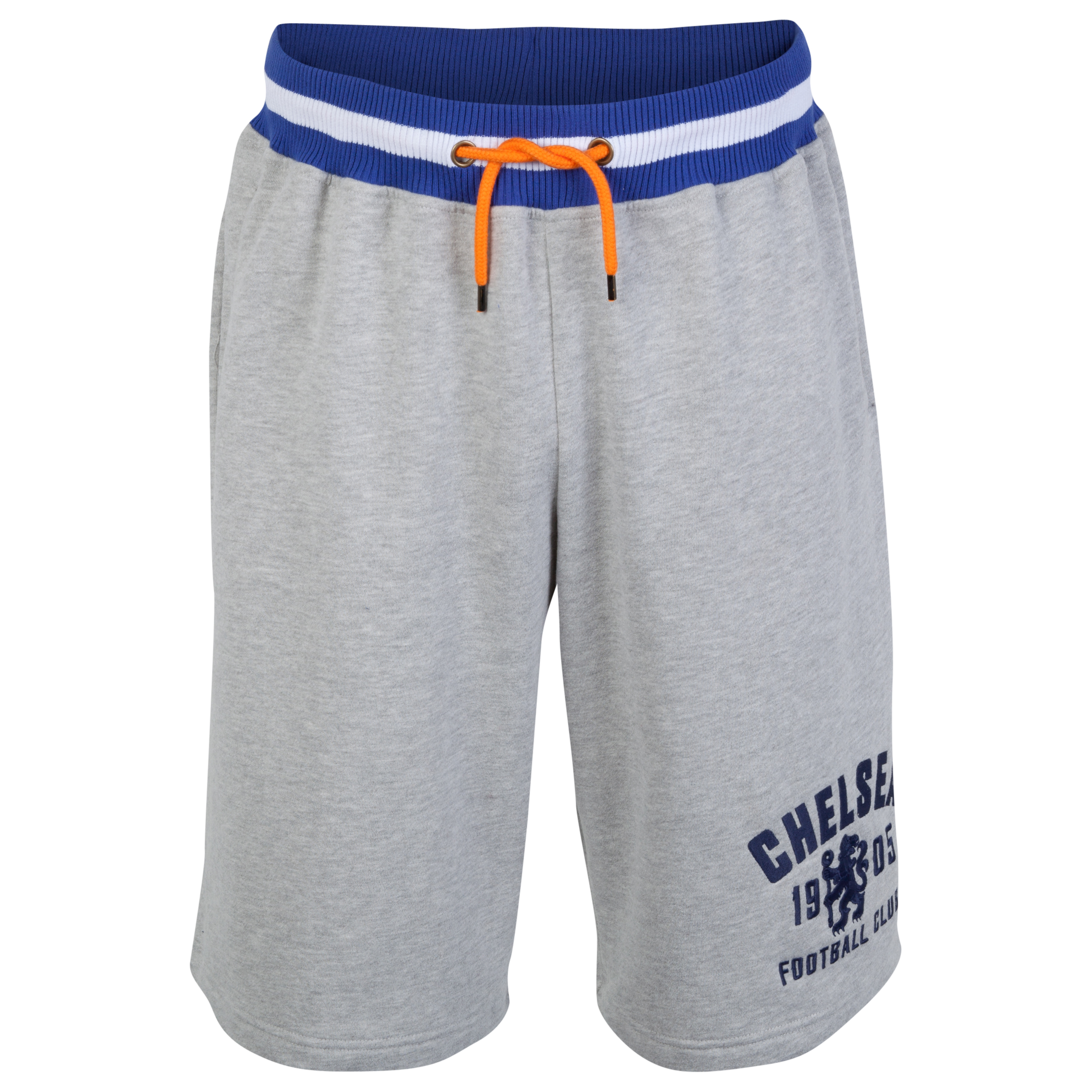Chelsea Heritage Fleece Jog Shorts - Mens Grey