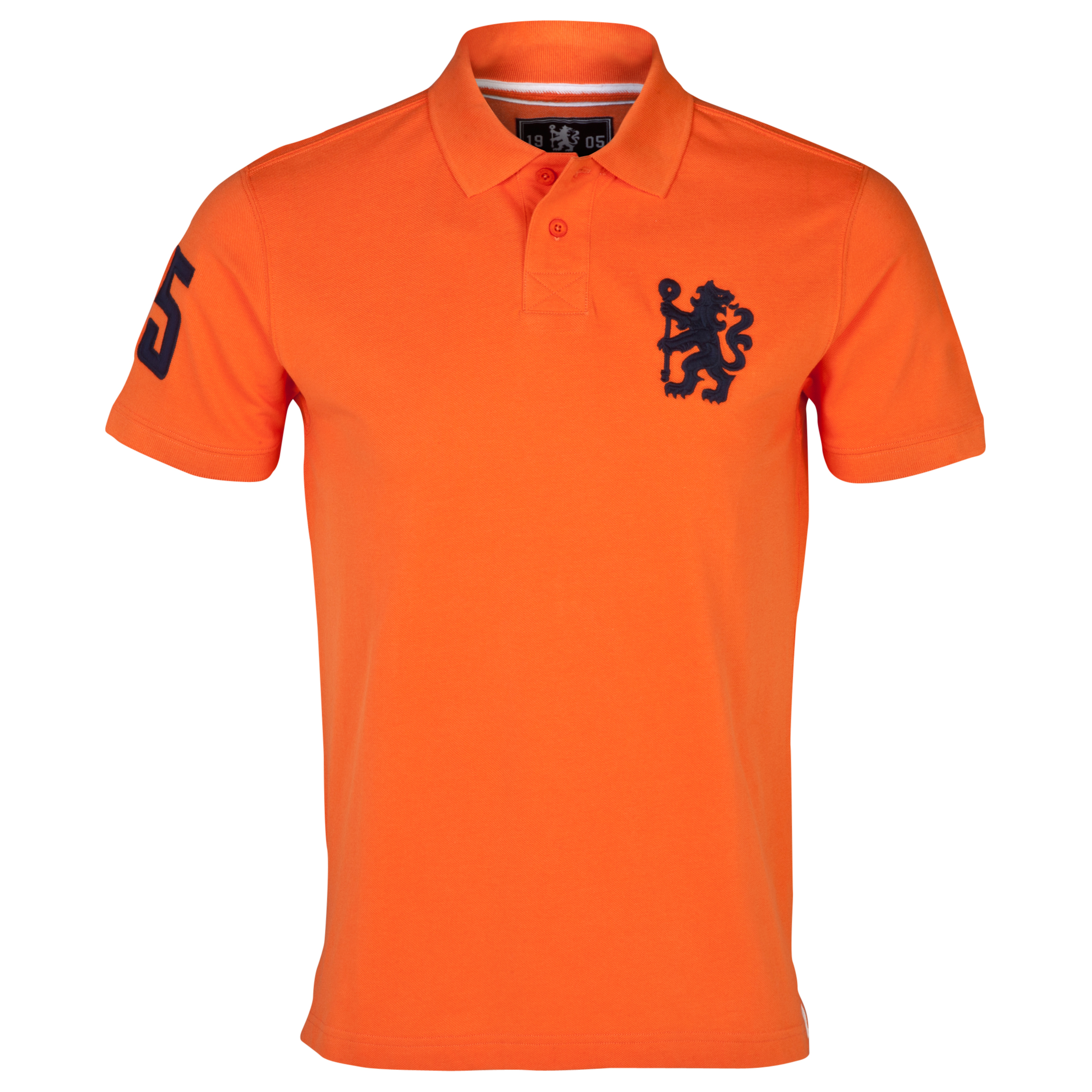 Chelsea Heritage Lion Polo Shirt - Mens