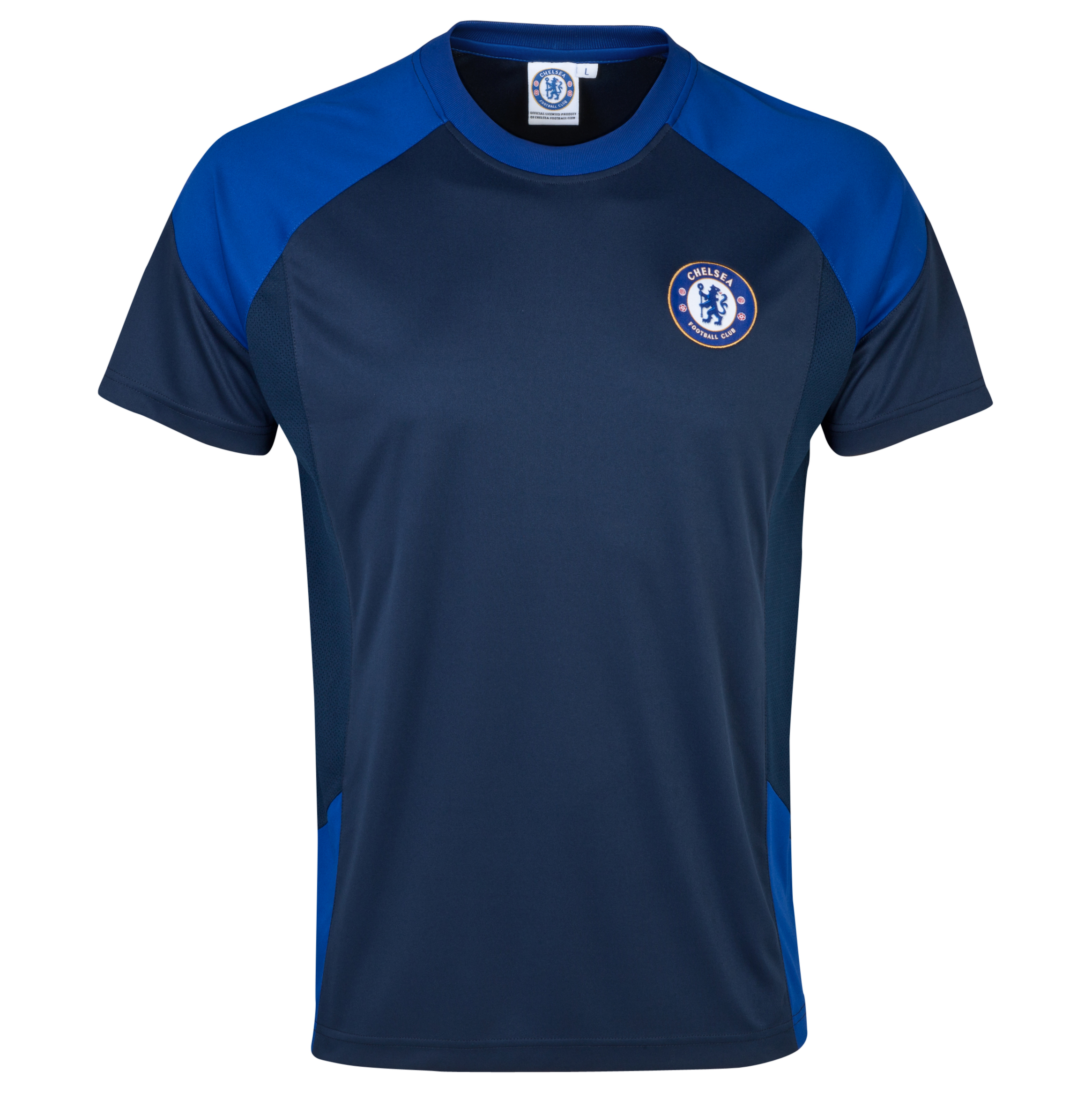 Chelsea Basic Poly Panel T-Shirt - Mens Navy
