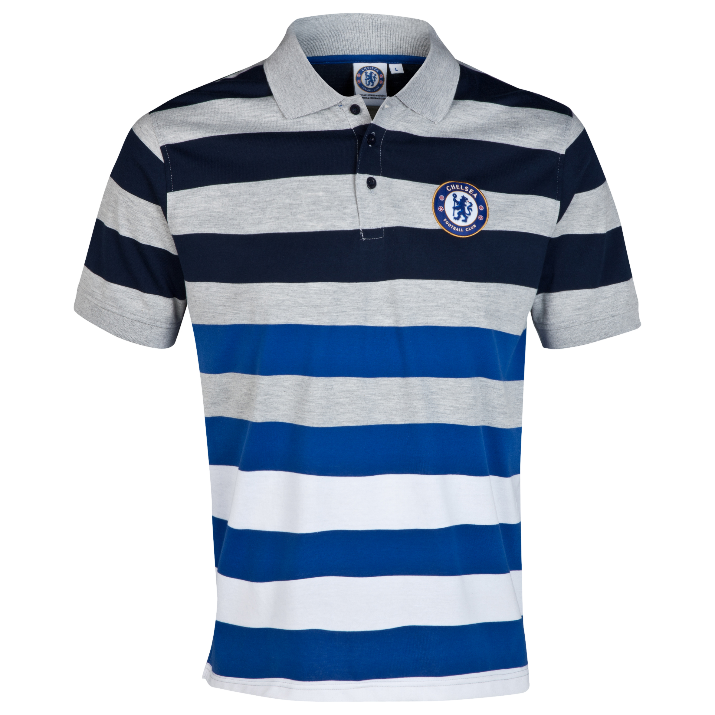 Chelsea Core Striped Polo - Mens Multi