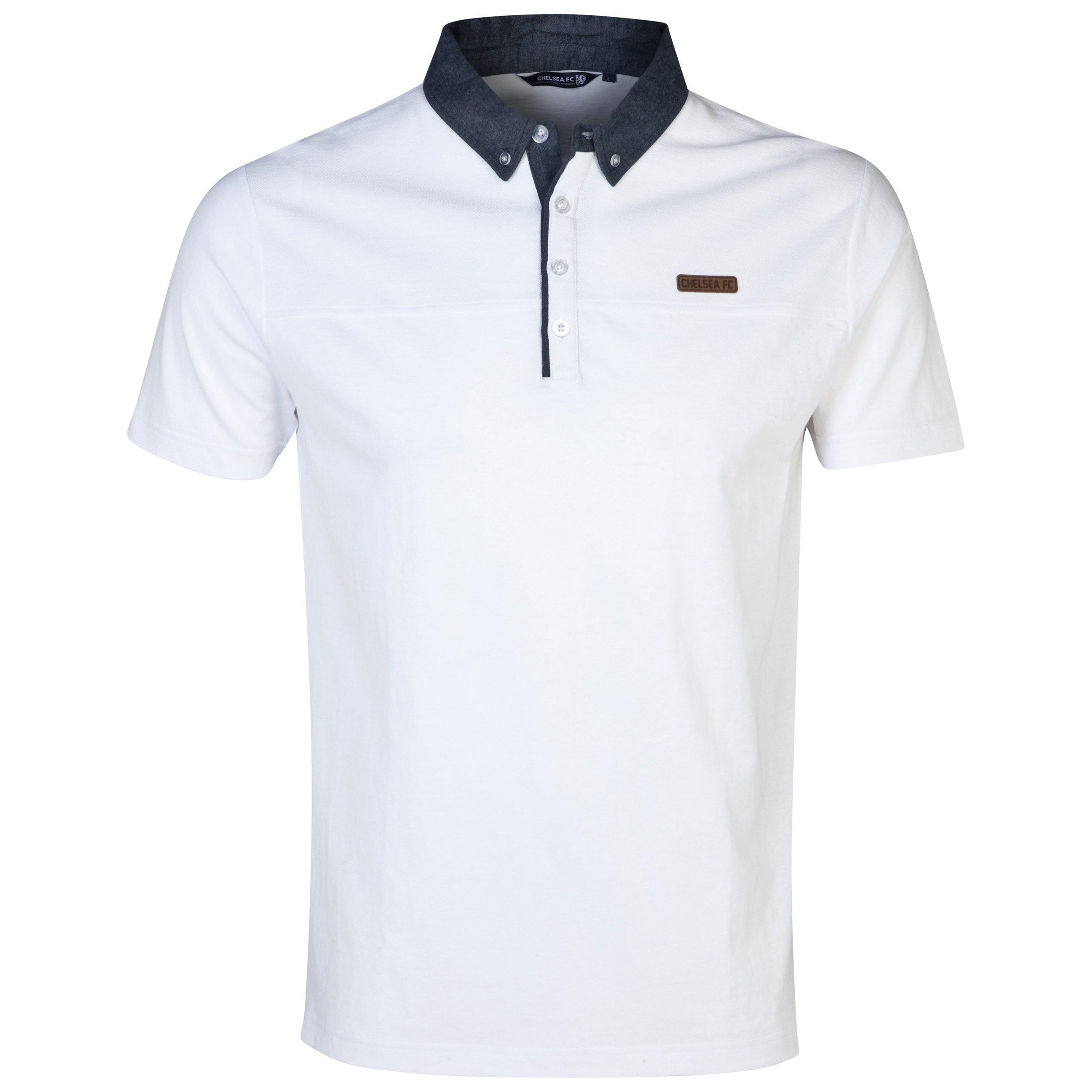 Chelsea Fashion Panel Polo - Mens White
